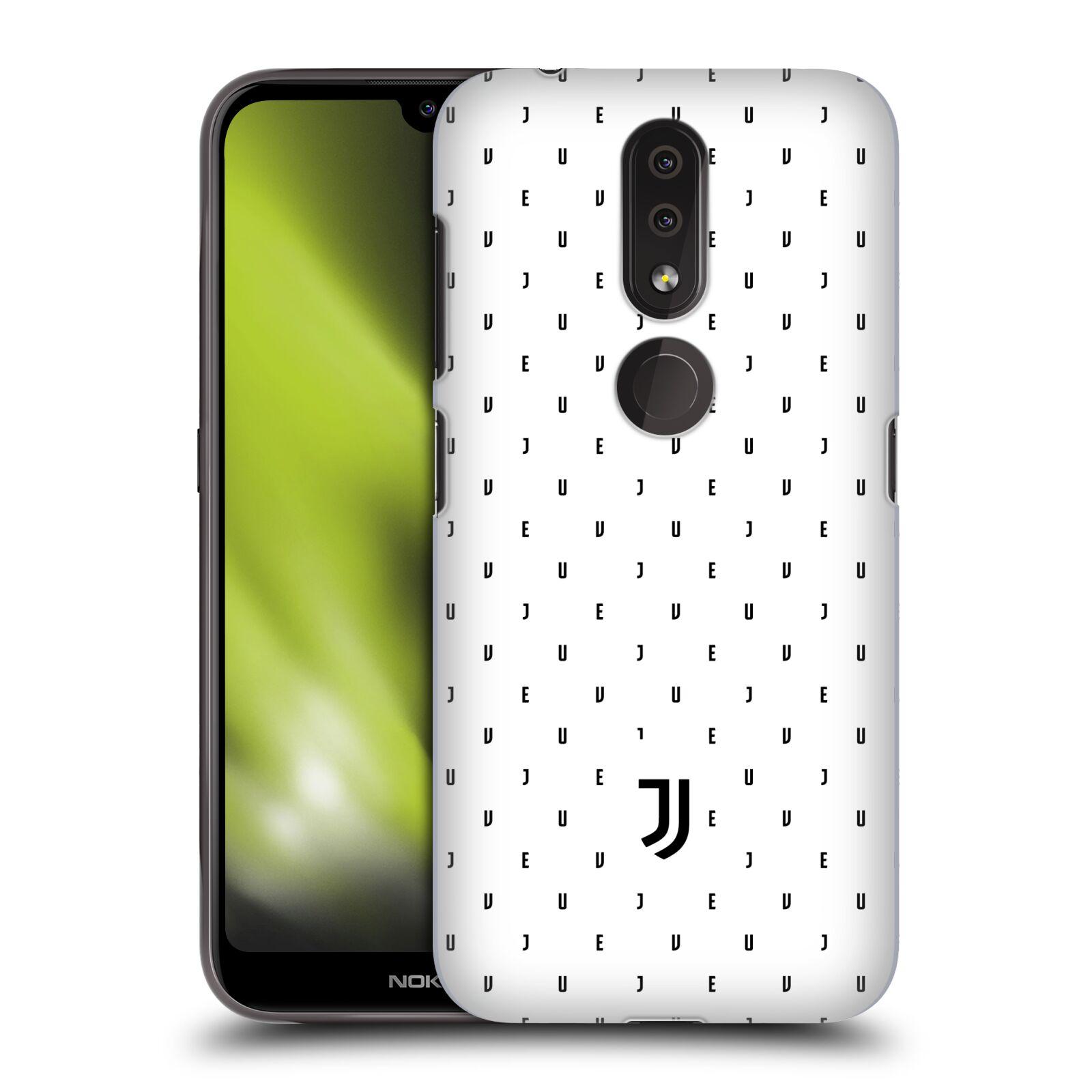 Plastové pouzdro na mobil Nokia 4.2 - Head Case - Juventus FC - Nové logo - Decentní