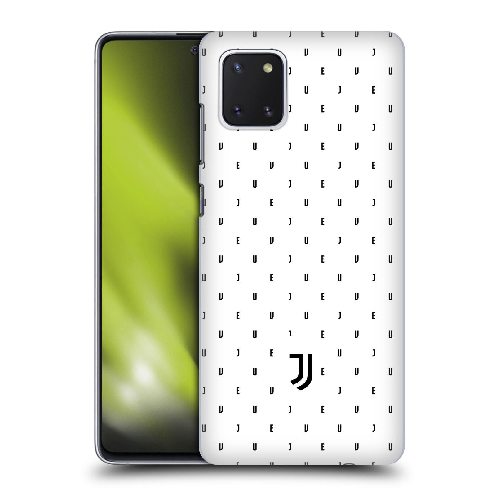 Plastové pouzdro na mobil Samsung Galaxy Note 10 Lite - Head Case - Juventus FC - Nové logo - Decentní