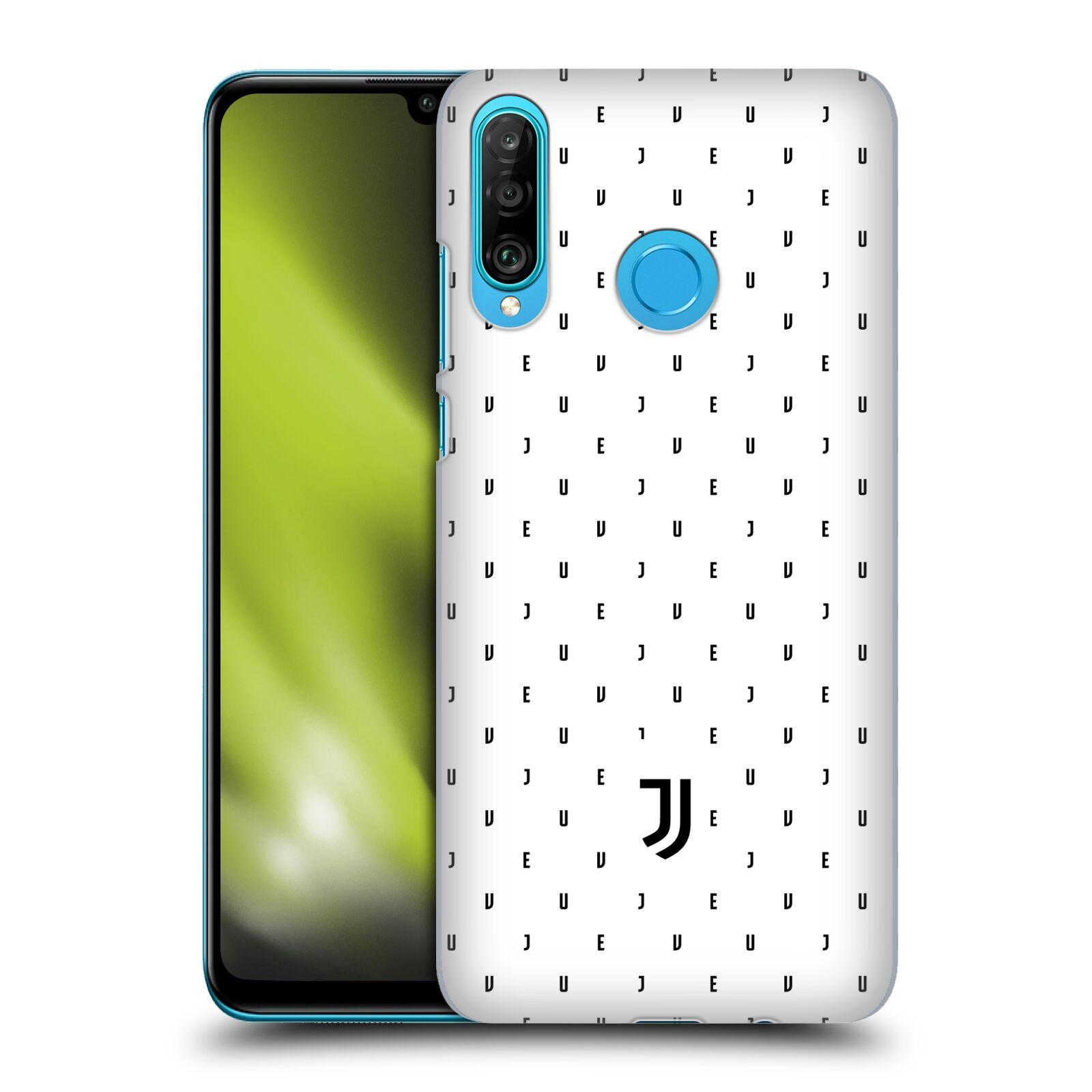 Plastové pouzdro na mobil Huawei P30 Lite - Head Case - Juventus FC - Nové logo - Decentní