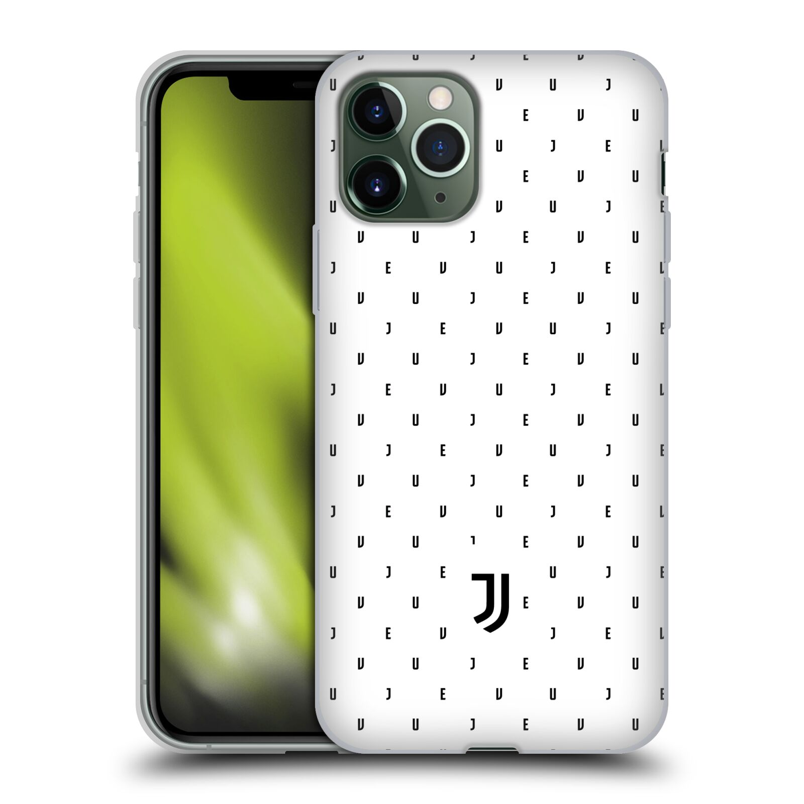 Silikonové pouzdro na mobil Apple iPhone 11 Pro - Head Case - Juventus FC - Nové logo - Decentní