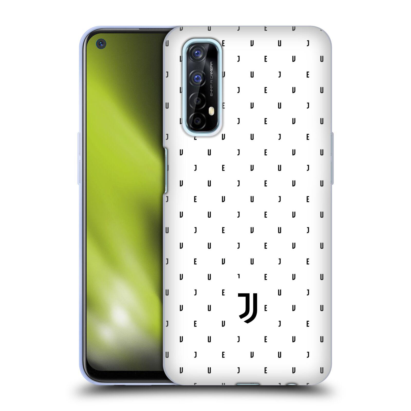 Silikonové pouzdro na mobil Realme 7 - Head Case - Juventus FC - Nové logo - Decentní