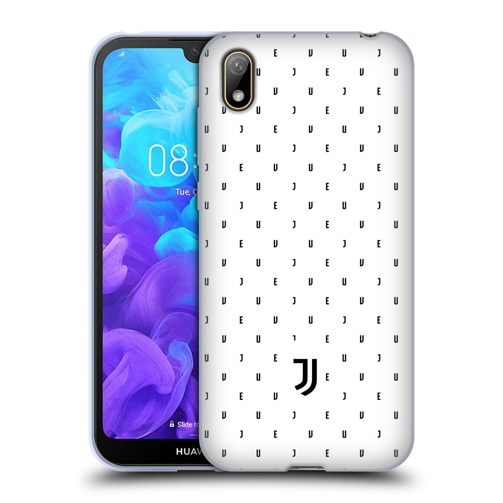 Silikonové pouzdro na mobil Huawei Y5 (2019) - Head Case - Juventus FC - Nové logo - Decentní