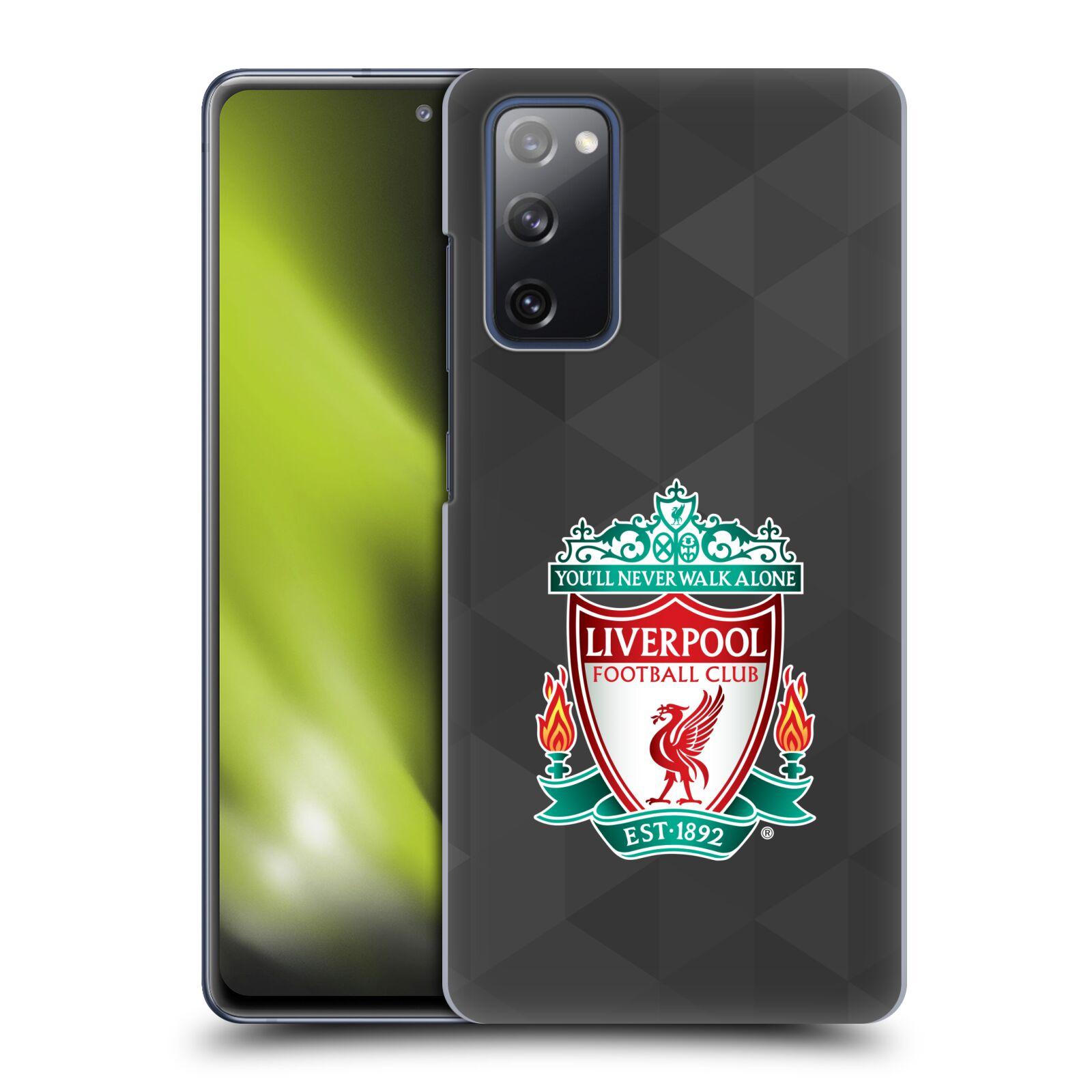 Plastové pouzdro na mobil Samsung Galaxy S20 FE - Head Case - ZNAK LIVERPOOL FC OFFICIAL GEOMETRIC BLACK