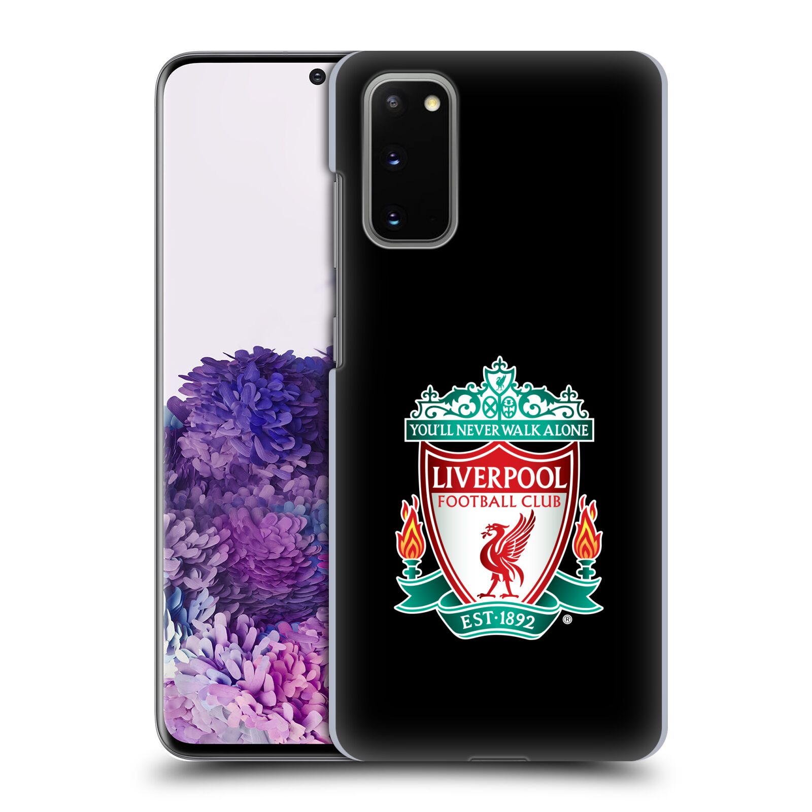 Plastové pouzdro na mobil Samsung Galaxy S20 - Head Case - ZNAK LIVERPOOL FC OFFICIAL BLACK