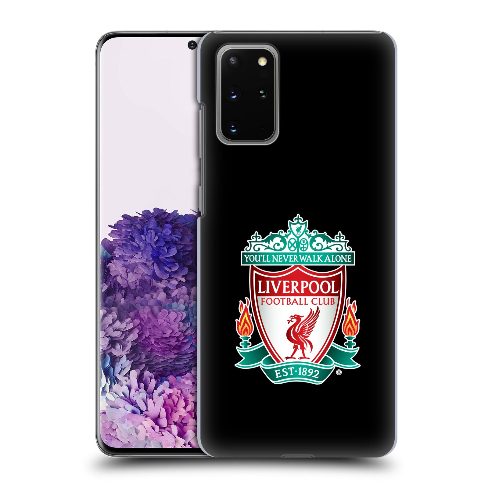 Plastové pouzdro na mobil Samsung Galaxy S20 Plus - Head Case - ZNAK LIVERPOOL FC OFFICIAL BLACK