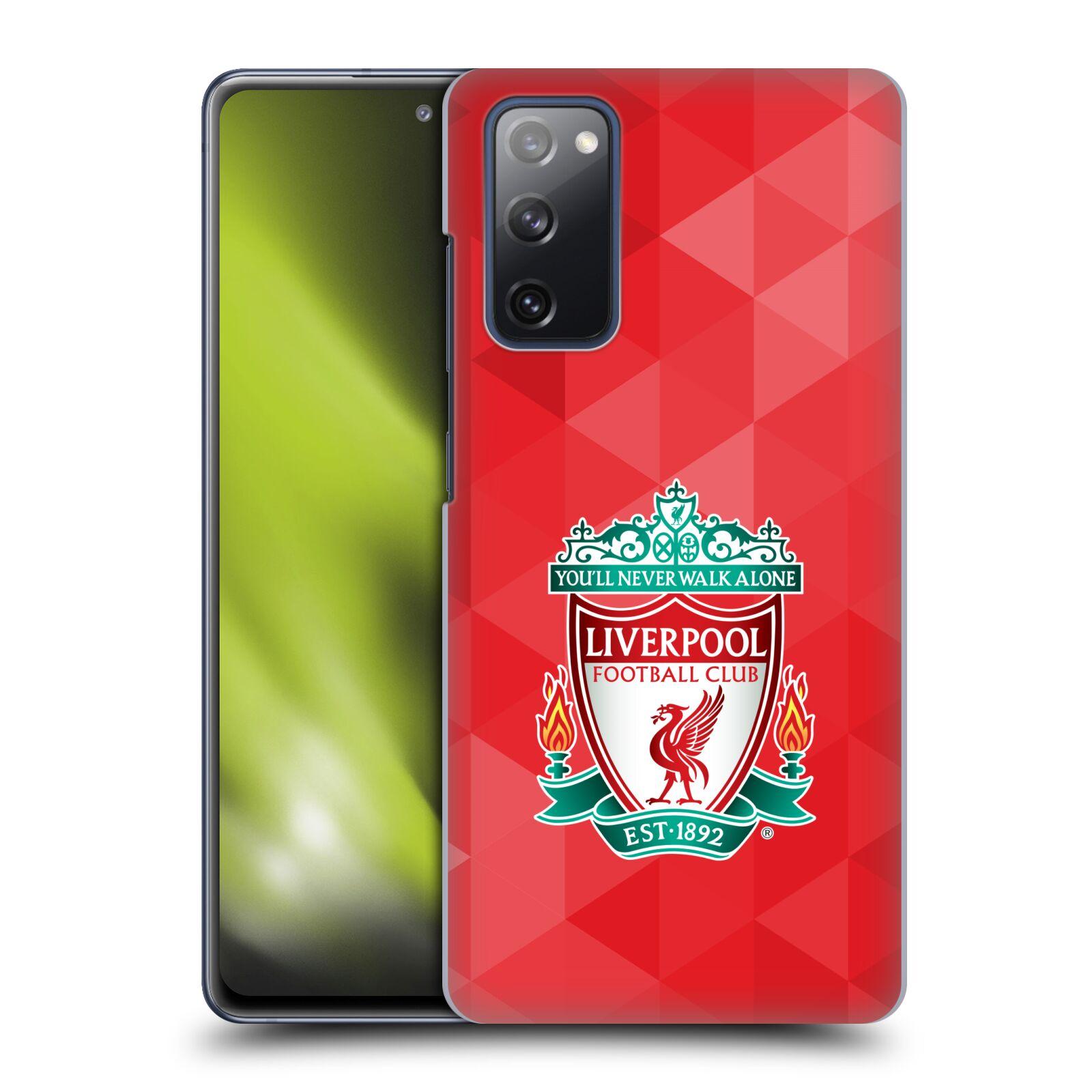 Plastové pouzdro na mobil Samsung Galaxy S20 FE - Head Case - ZNAK LIVERPOOL FC OFFICIAL GEOMETRIC RED