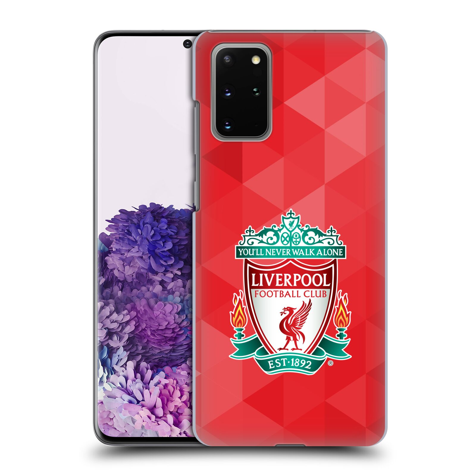 Plastové pouzdro na mobil Samsung Galaxy S20 Plus - Head Case - ZNAK LIVERPOOL FC OFFICIAL GEOMETRIC RED