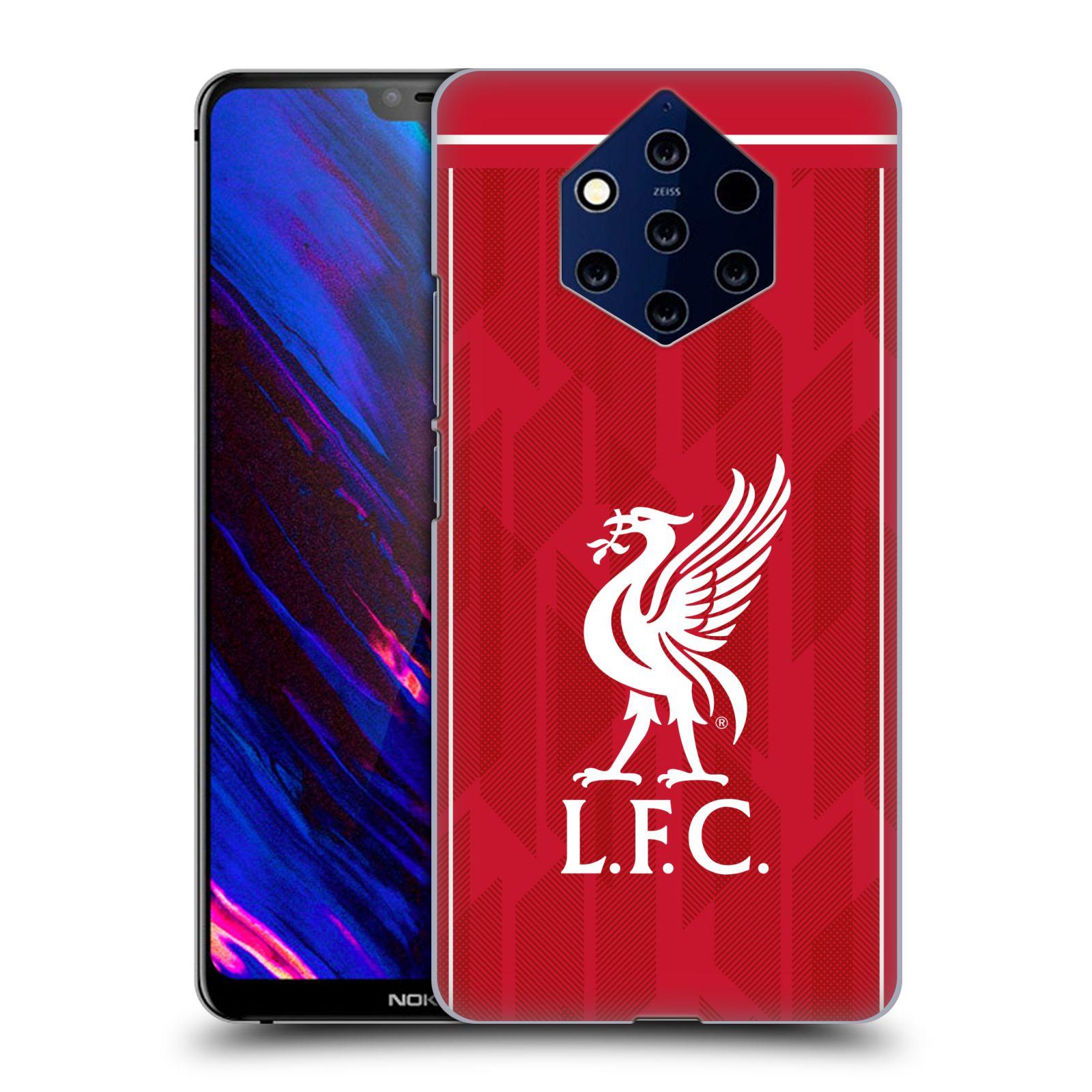 Plastové pouzdro na mobil Nokia 9 PureView - Head Case - Liverpool FC - L.F.C. Home kit