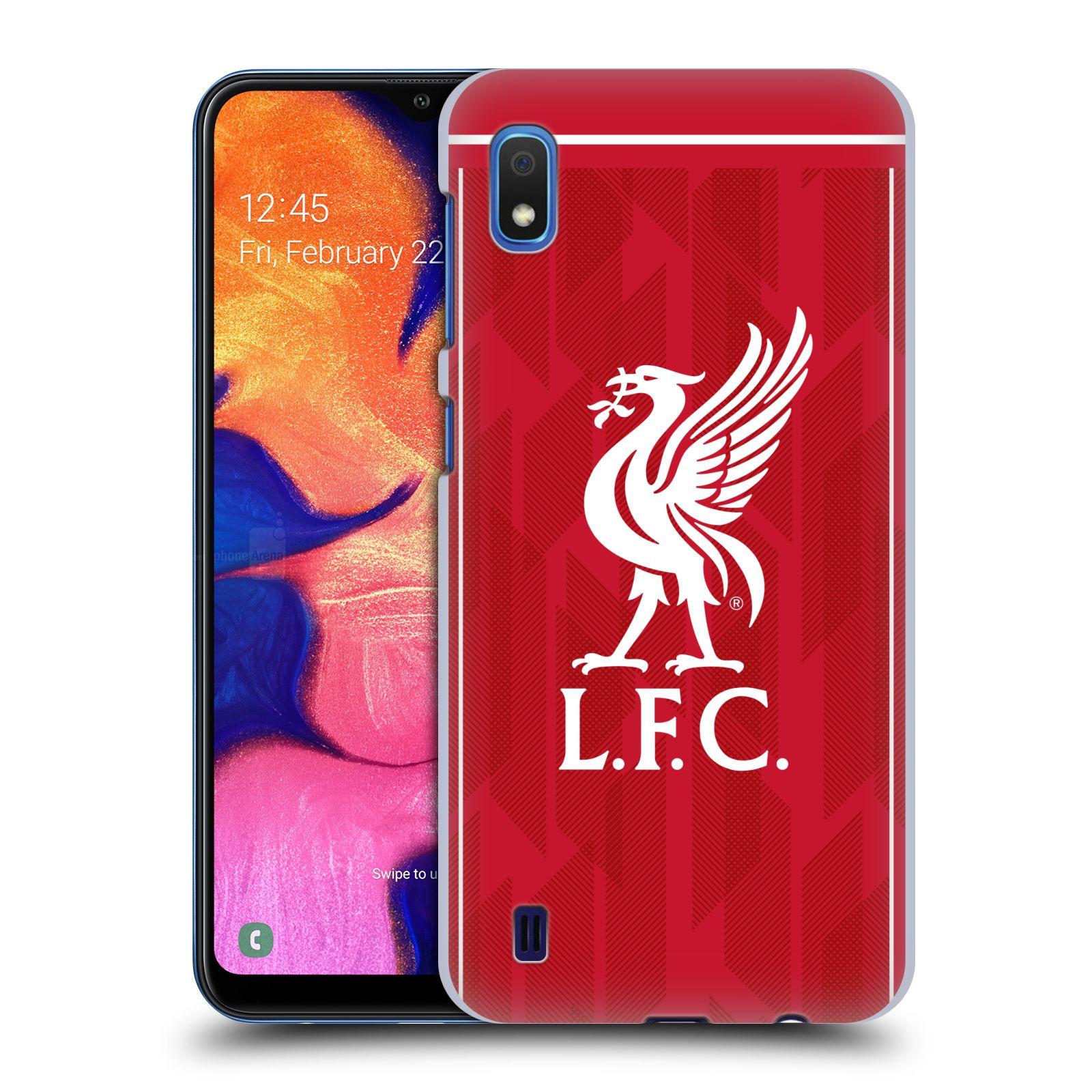 Plastové pouzdro na mobil Samsung Galaxy A10 - Head Case - Liverpool FC - L.F.C. Home kit