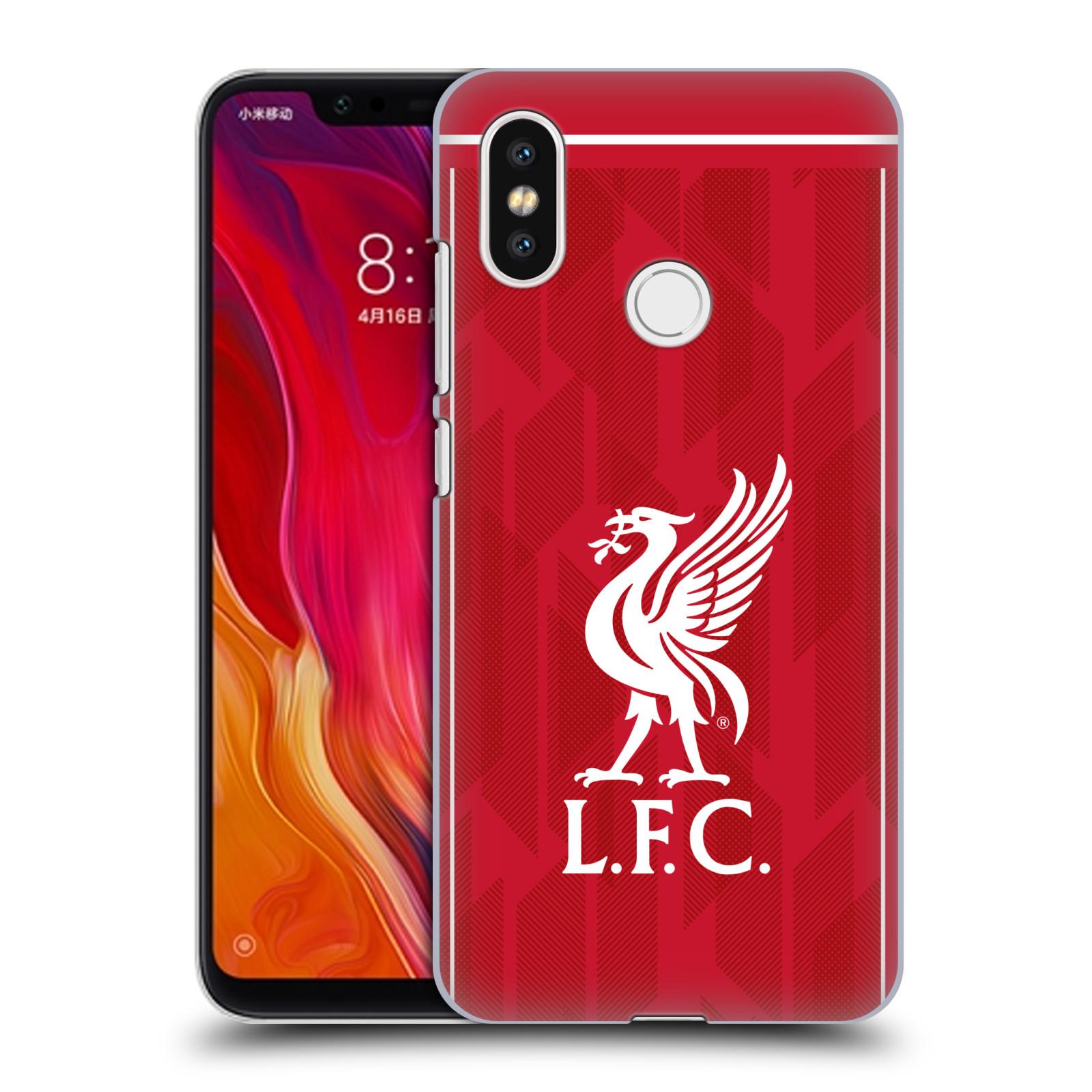Plastové pouzdro na mobil Xiaomi Mi8 - Head Case - Liverpool FC - L.F.C. Home kit