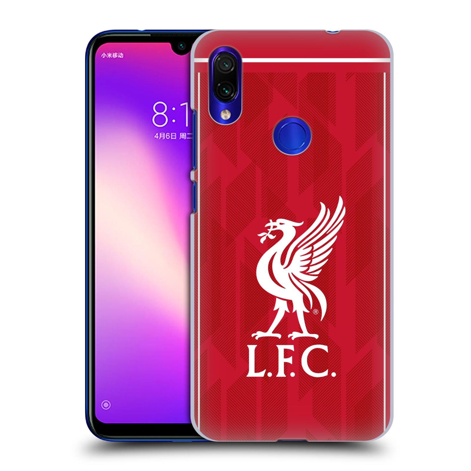 Plastové pouzdro na mobil Xiaomi Redmi Note 7 - Head Case - Liverpool FC - L.F.C. Home kit