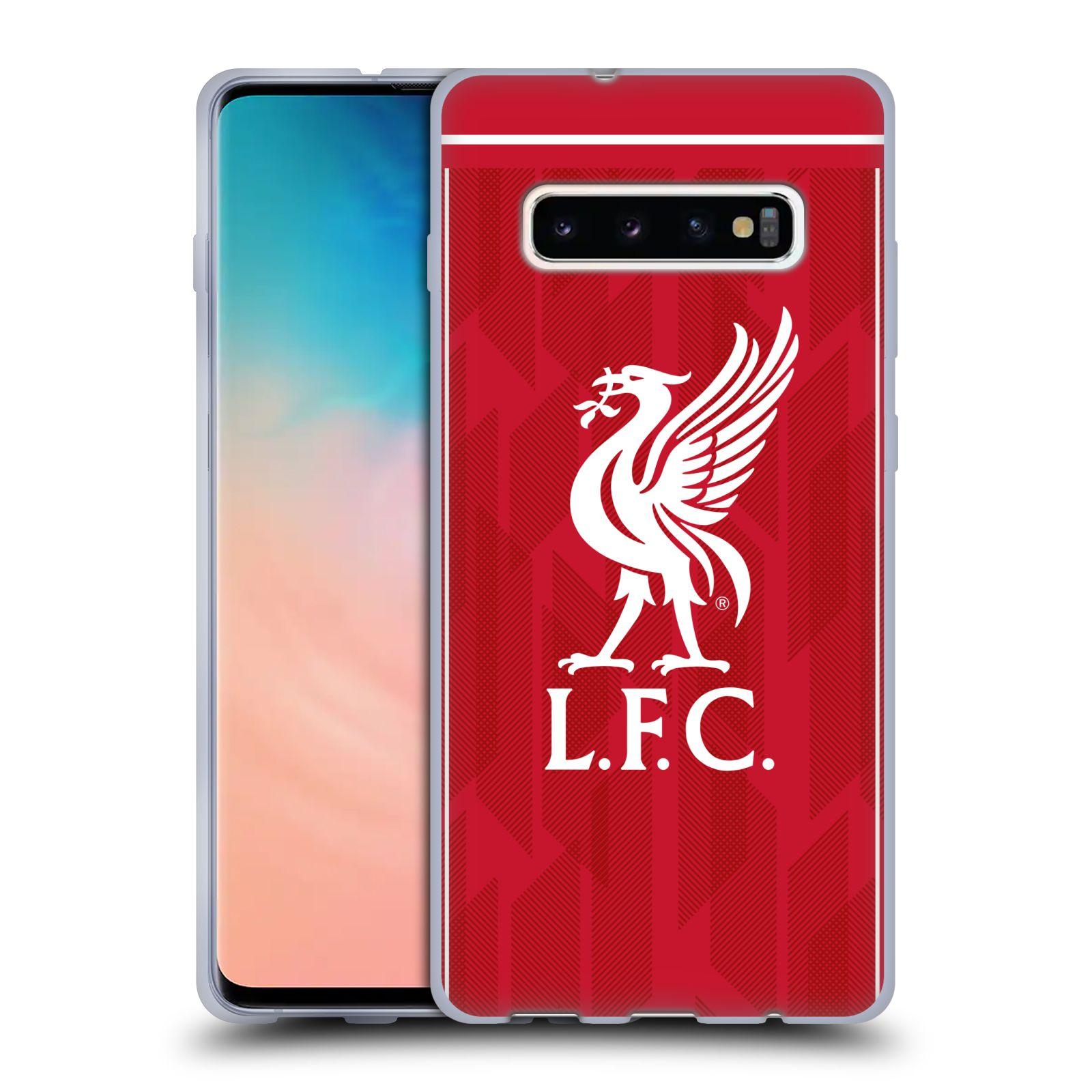 Silikonové pouzdro na mobil Samsung Galaxy S10 Plus - Head Case - Liverpool FC - L.F.C. Home kit