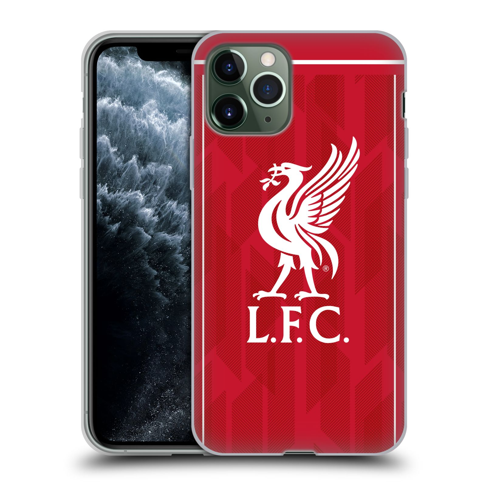 Silikonové pouzdro na mobil Apple iPhone 11 Pro - Head Case - Liverpool FC - L.F.C. Home kit
