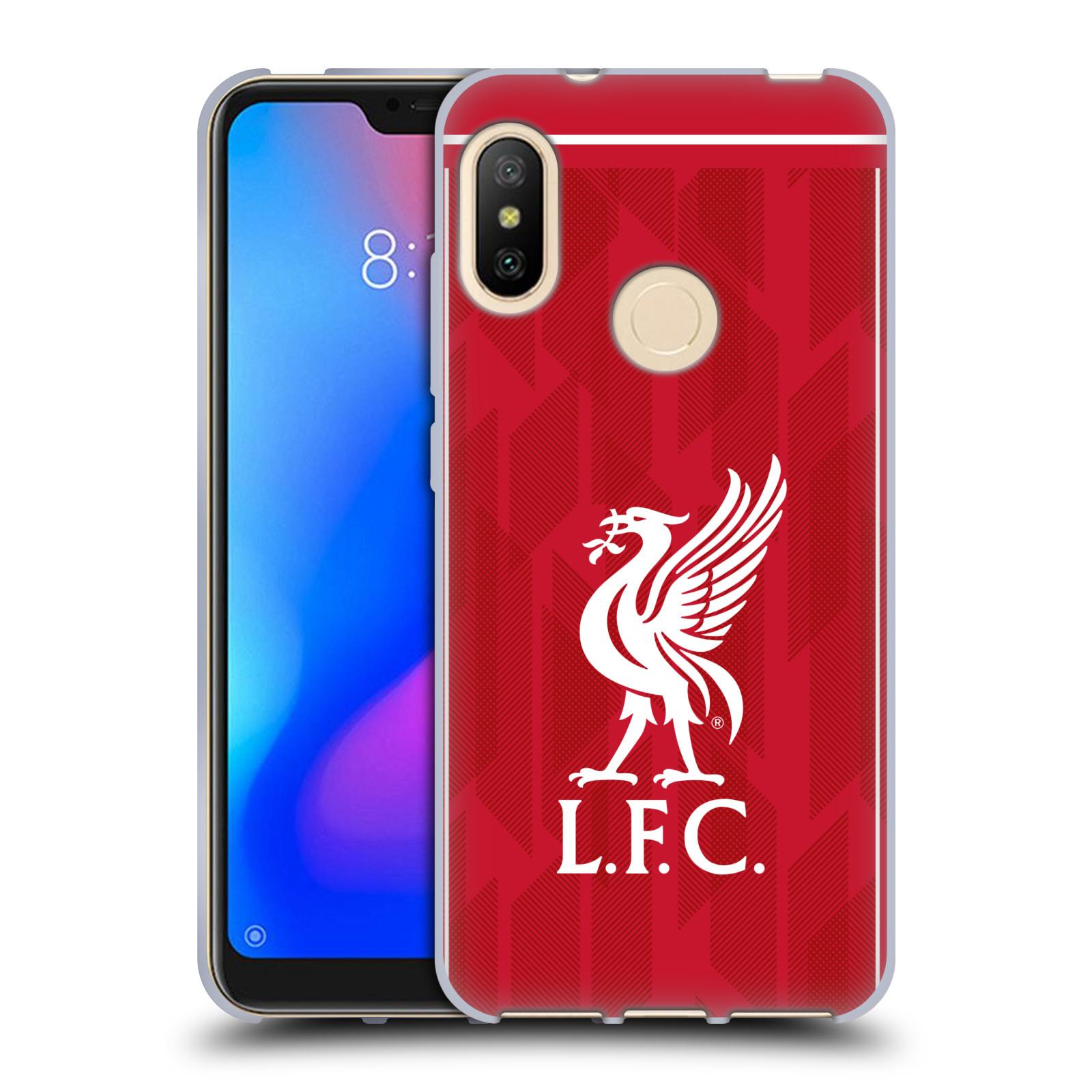 Silikonové pouzdro na mobil Xiaomi Mi A2 Lite - Head Case - Liverpool FC - L.F.C. Home kit