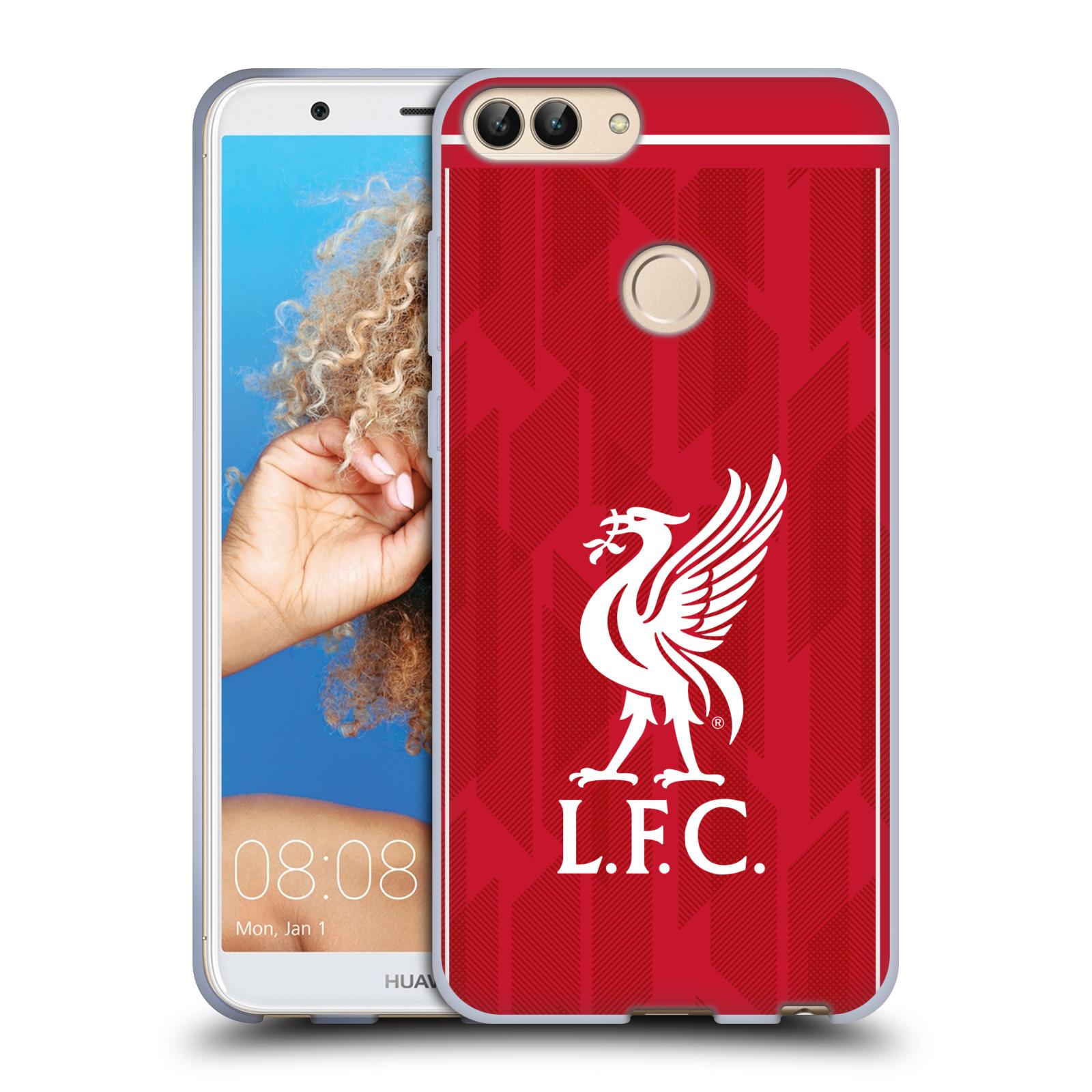 Silikonové pouzdro na mobil Huawei P Smart - Head Case - Liverpool FC - L.F.C. Home kit