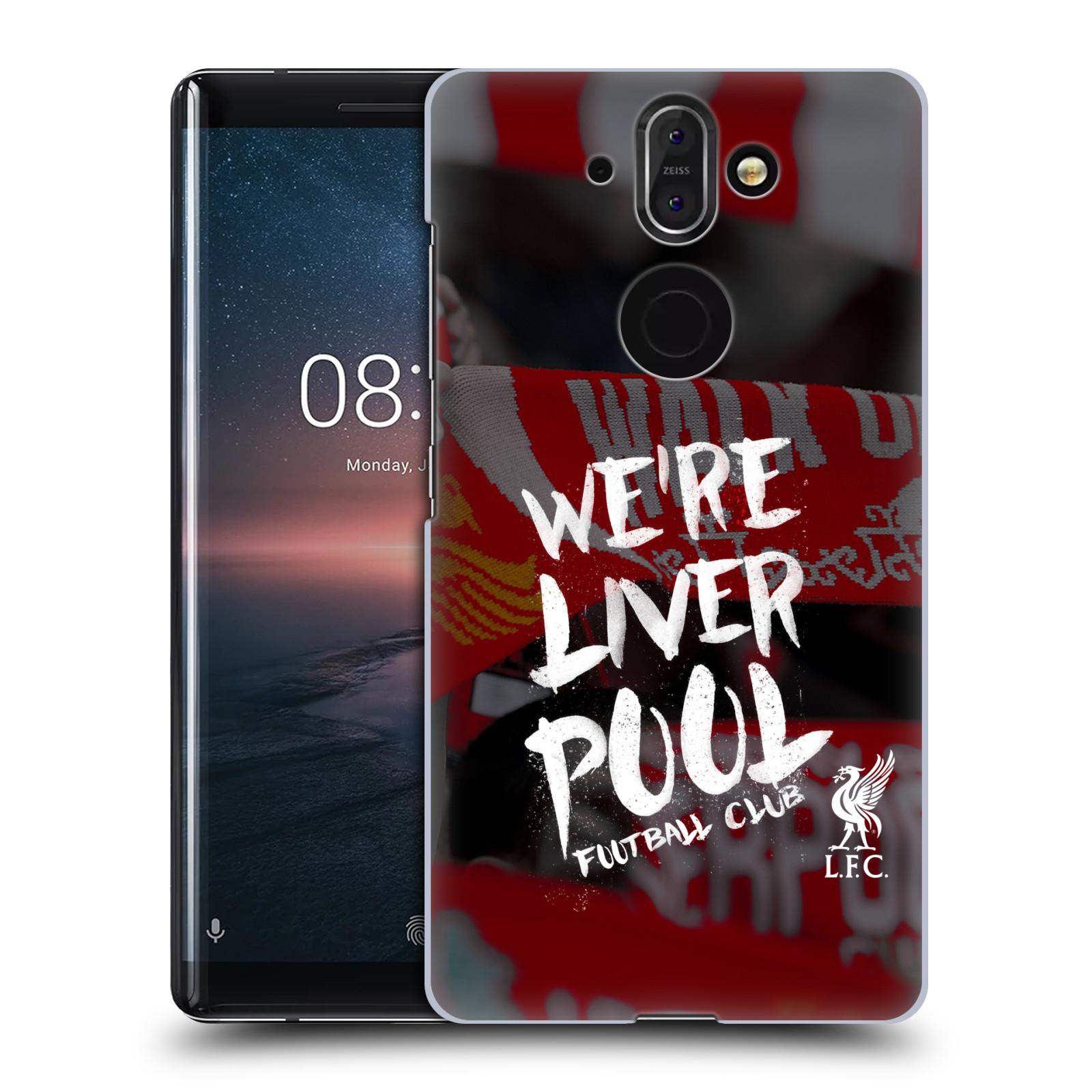 Plastové pouzdro na mobil Nokia 8 Sirocco - Head Case - We're Liverpool