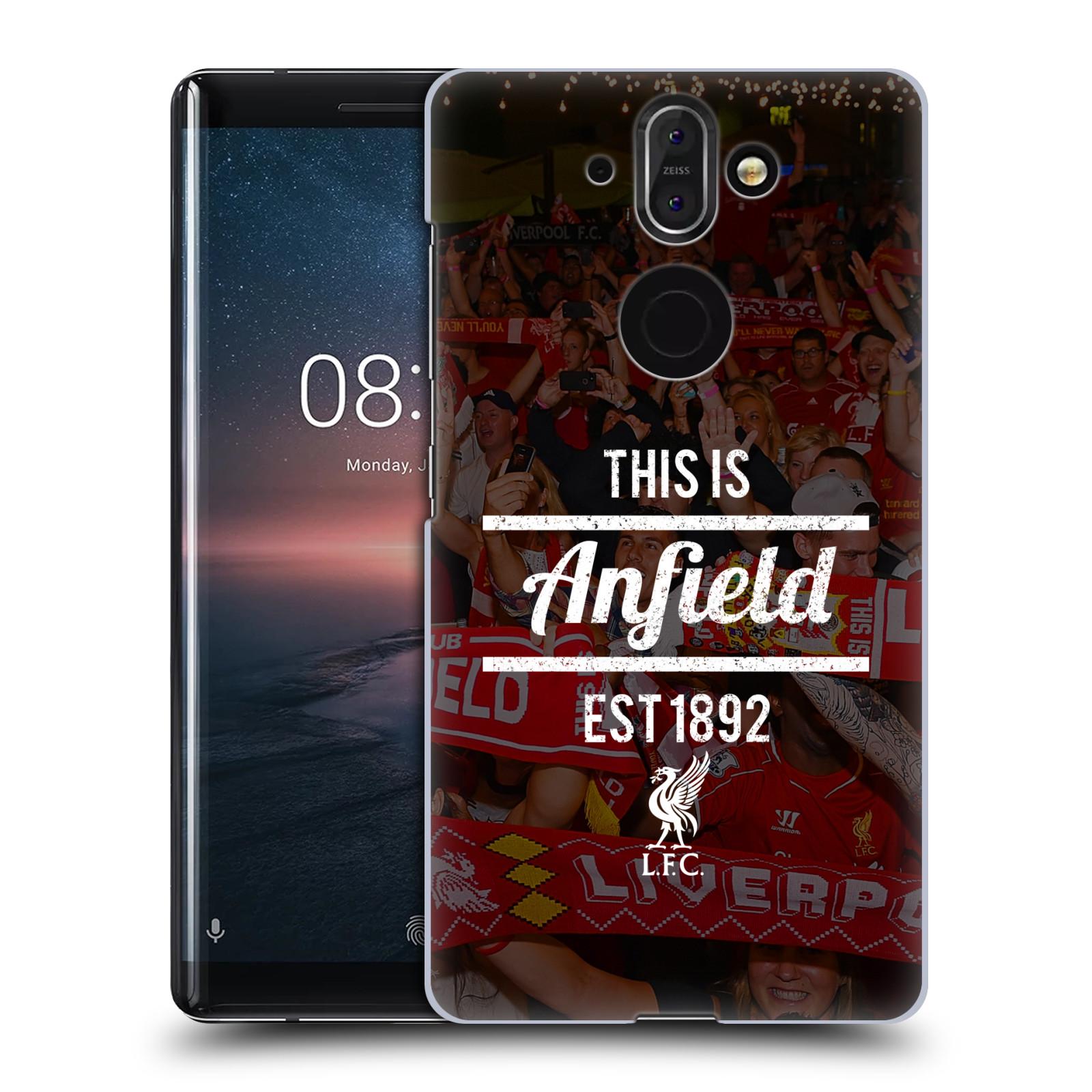 Plastové pouzdro na mobil Nokia 8 Sirocco - Head Case - LFC This Is Anfield