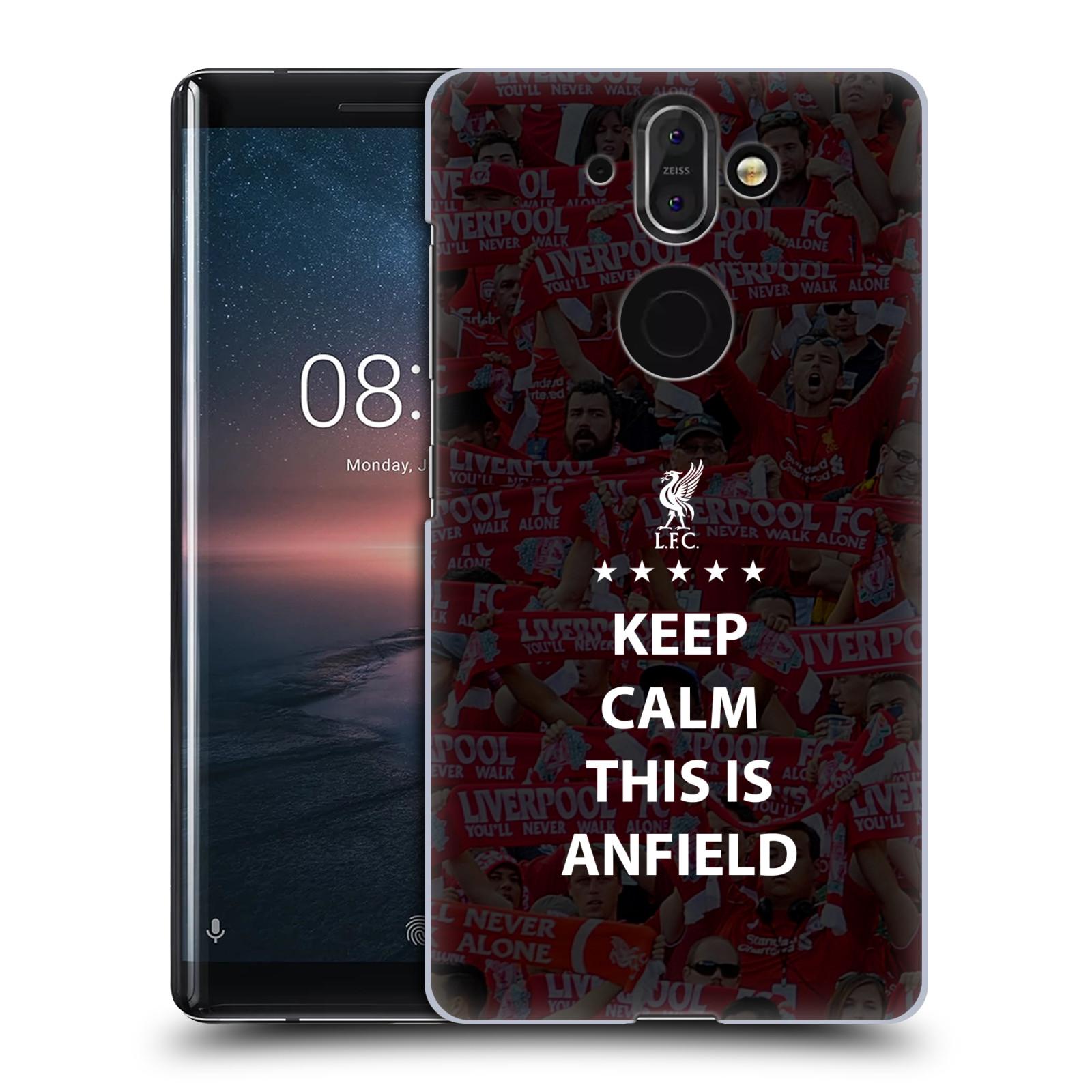Plastové pouzdro na mobil Nokia 8 Sirocco - Head Case - Keep Calm This Is Anfield