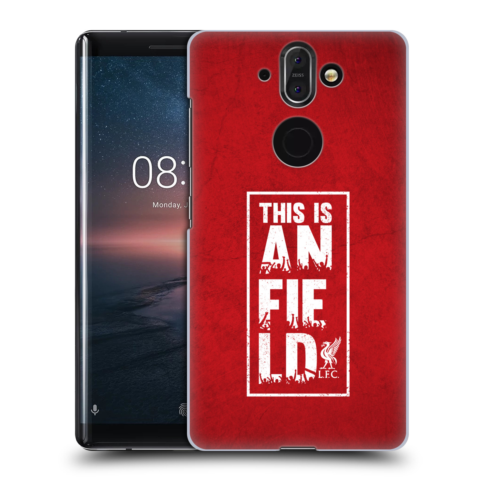 Plastové pouzdro na mobil Nokia 8 Sirocco - Head Case - Liverpool FC This Is Anfield Red
