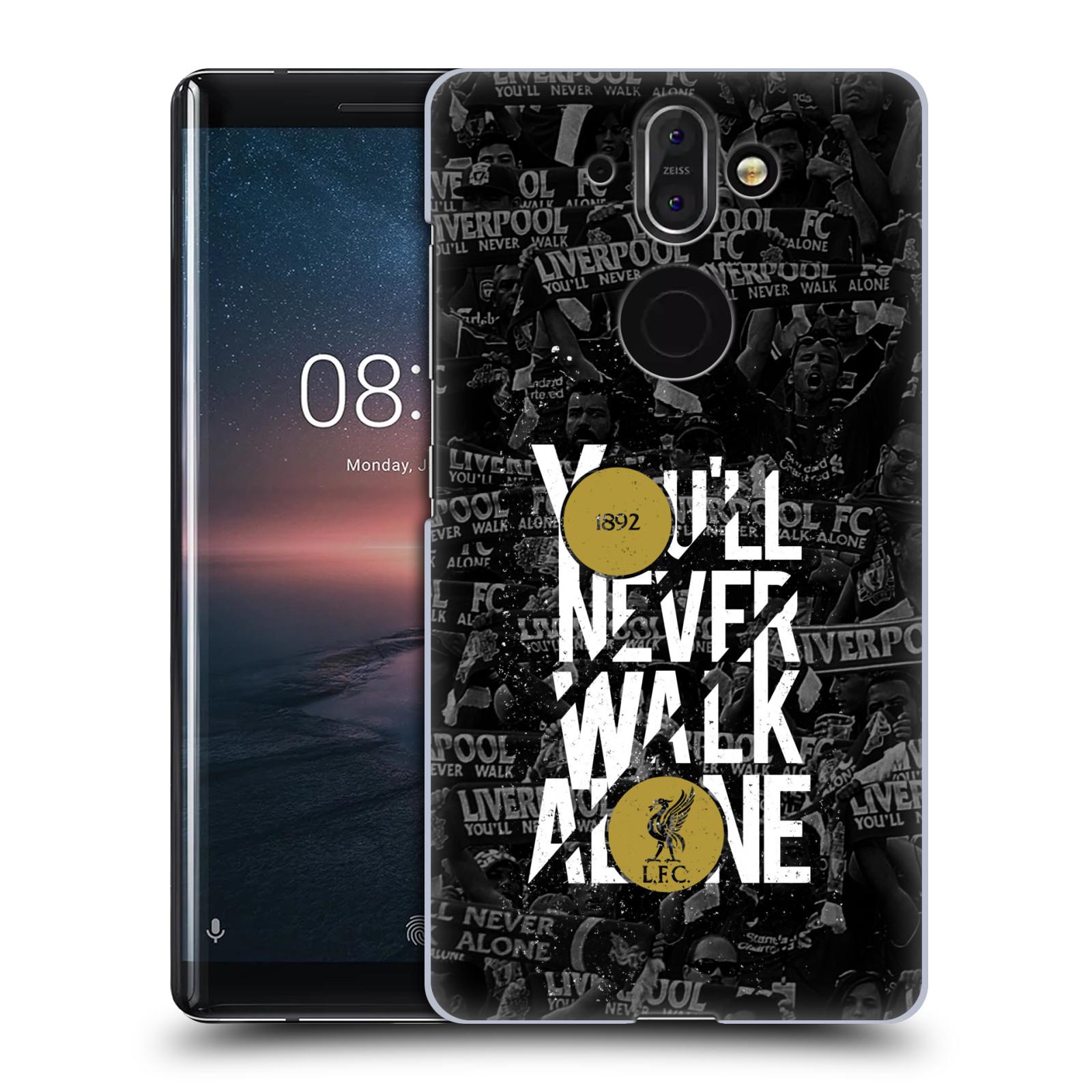 Plastové pouzdro na mobil Nokia 8 Sirocco - Head Case - 1892 LFC You'll Never Walk Alone