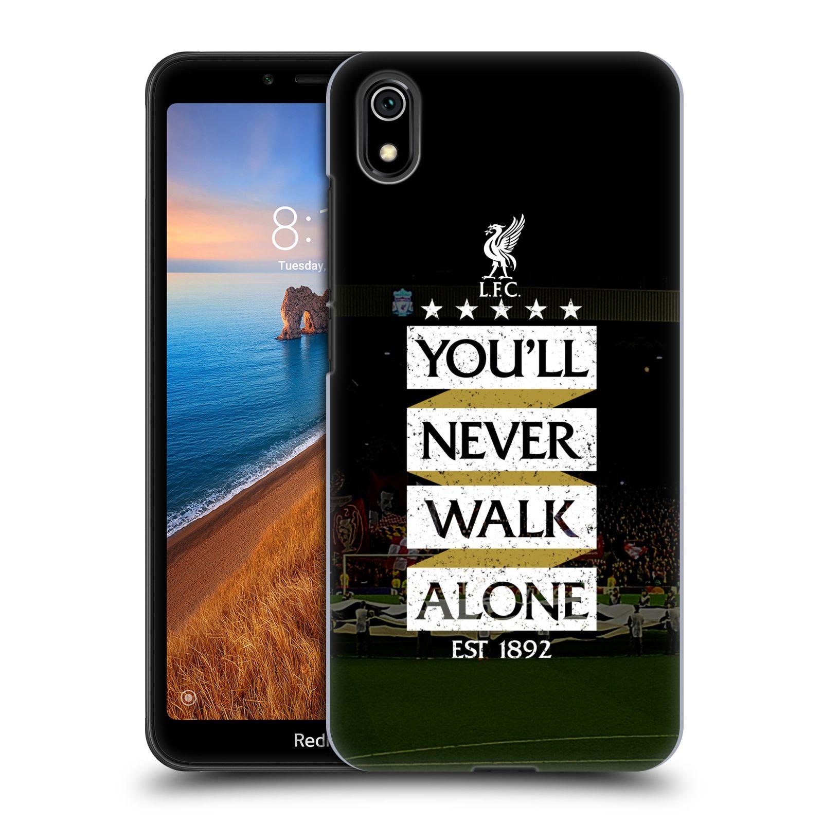 Plastové pouzdro na mobil Xiaomi Redmi 7A - Head Case - LFC You'll Never Walk Alone