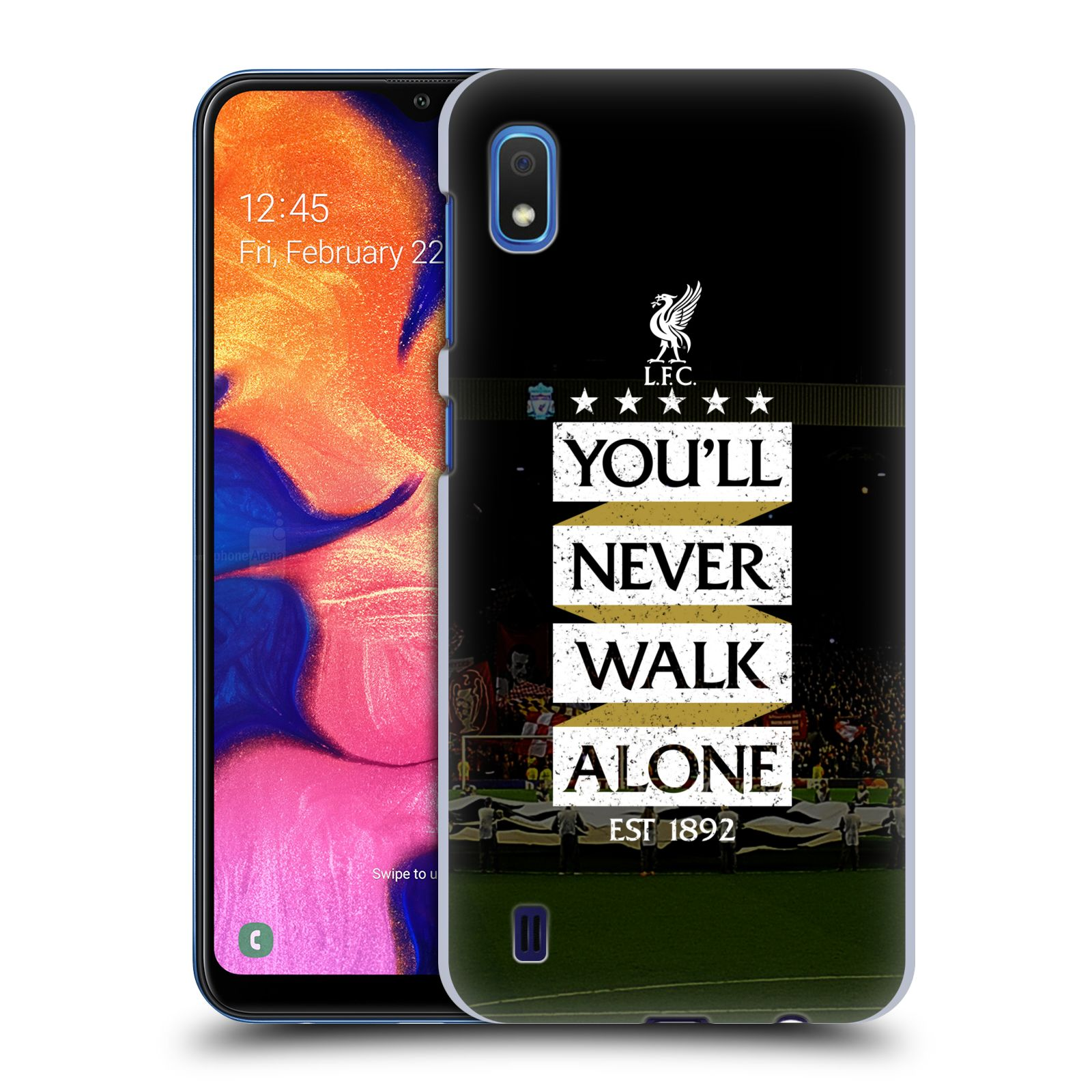 Plastové pouzdro na mobil Samsung Galaxy A10 - Head Case - LFC You'll Never Walk Alone