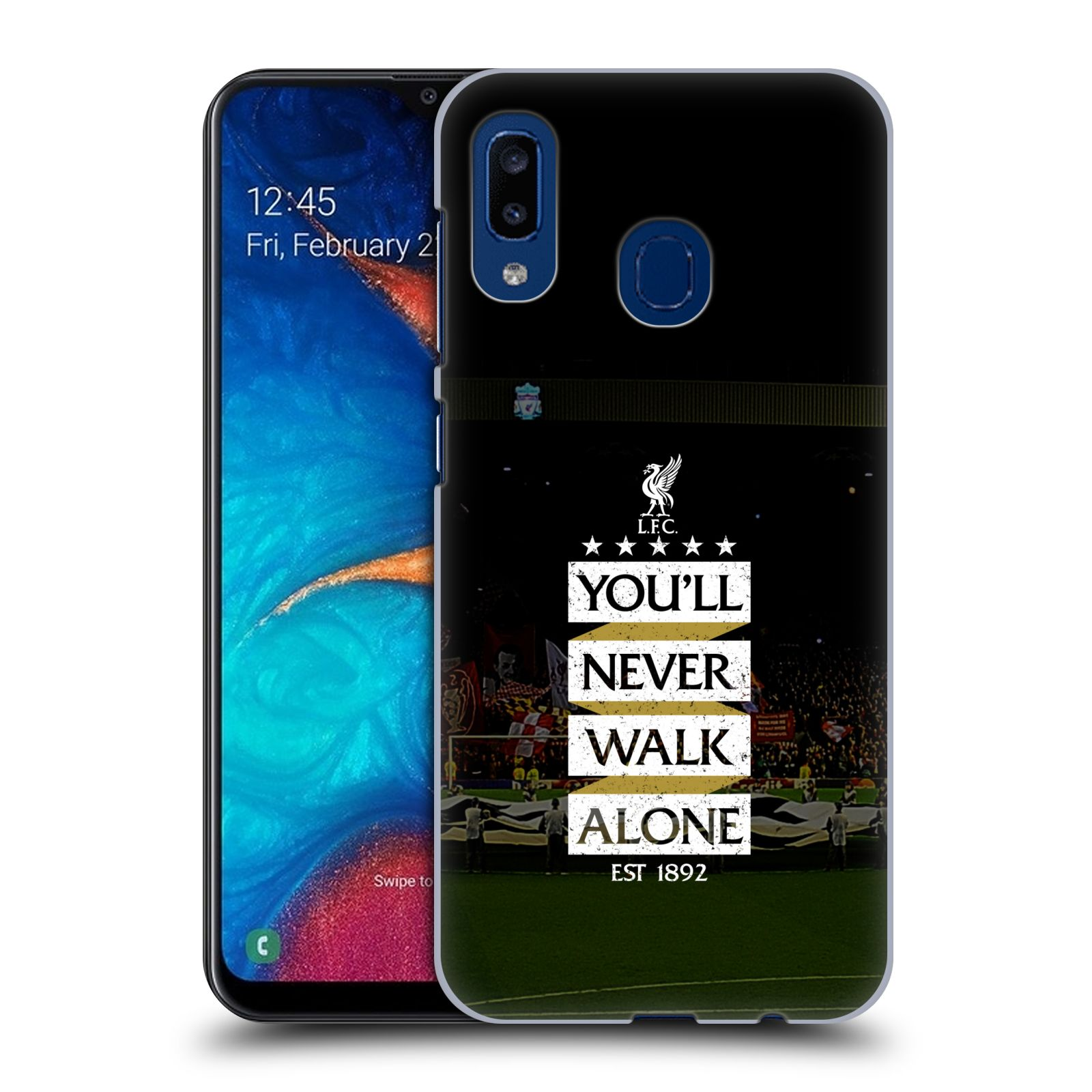 Plastové pouzdro na mobil Samsung Galaxy A20 - Head Case - LFC You'll Never Walk Alone