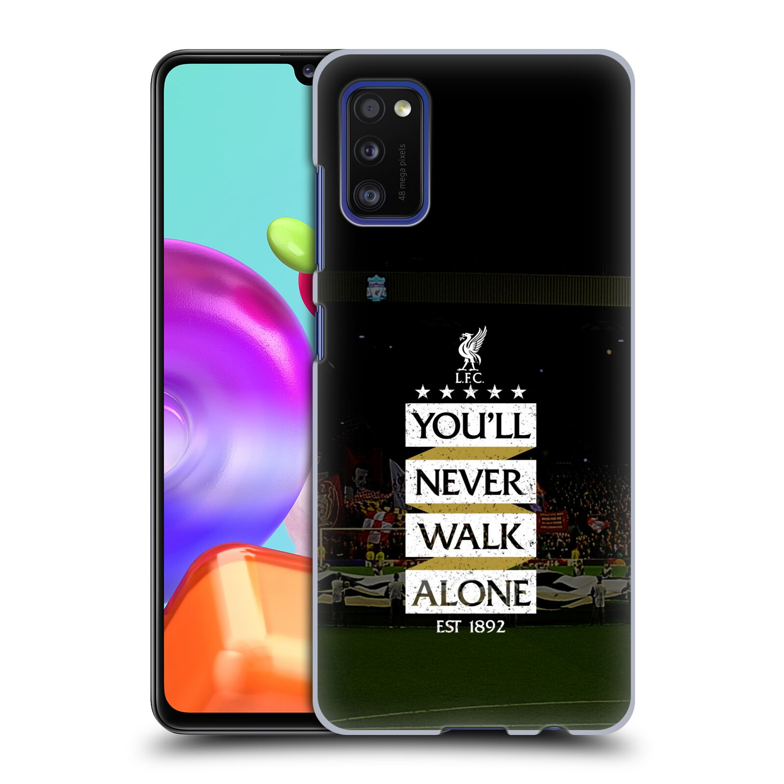 Plastové pouzdro na mobil Samsung Galaxy A41 - Head Case - LFC You'll Never Walk Alone