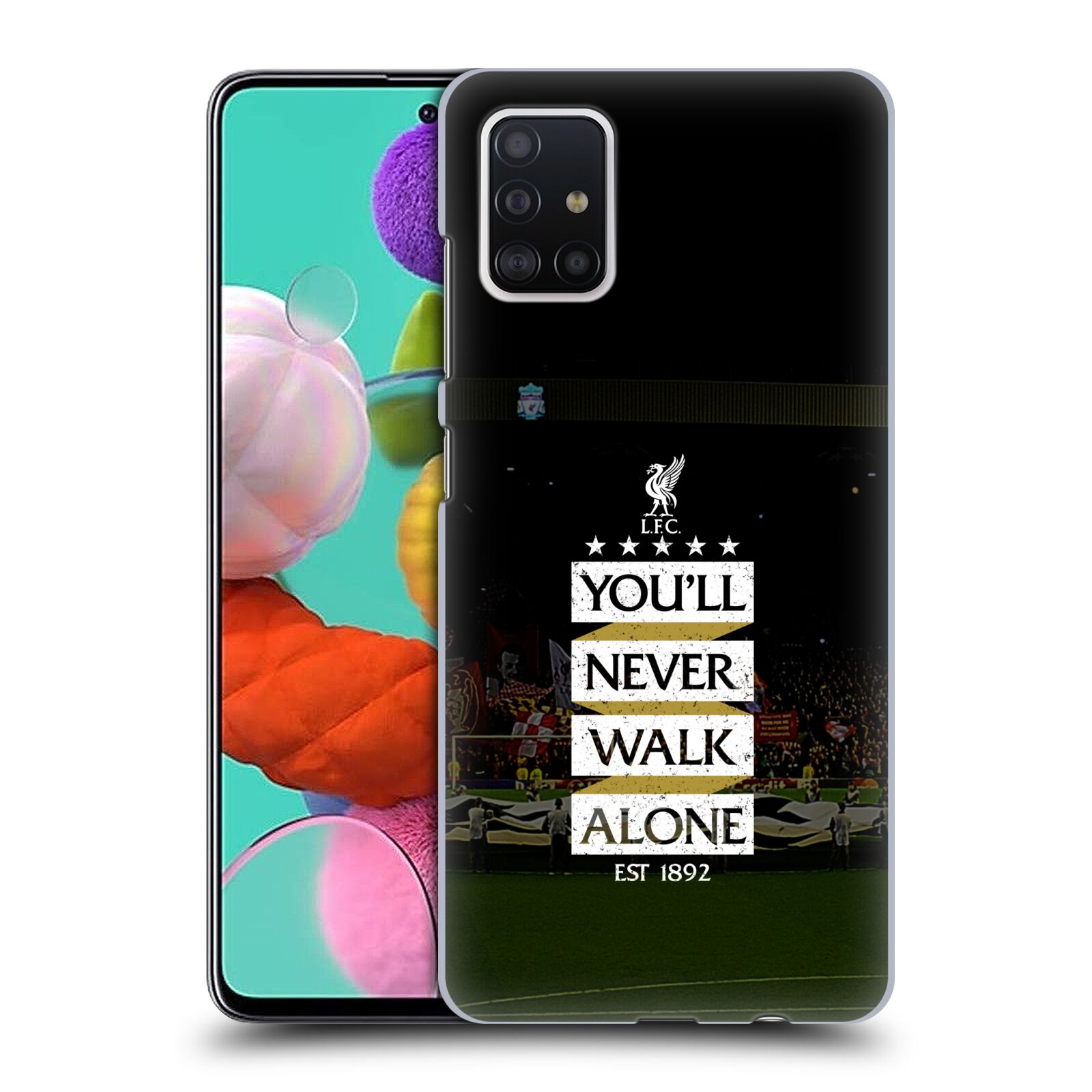 Plastové pouzdro na mobil Samsung Galaxy A51 - Head Case - LFC You'll Never Walk Alone