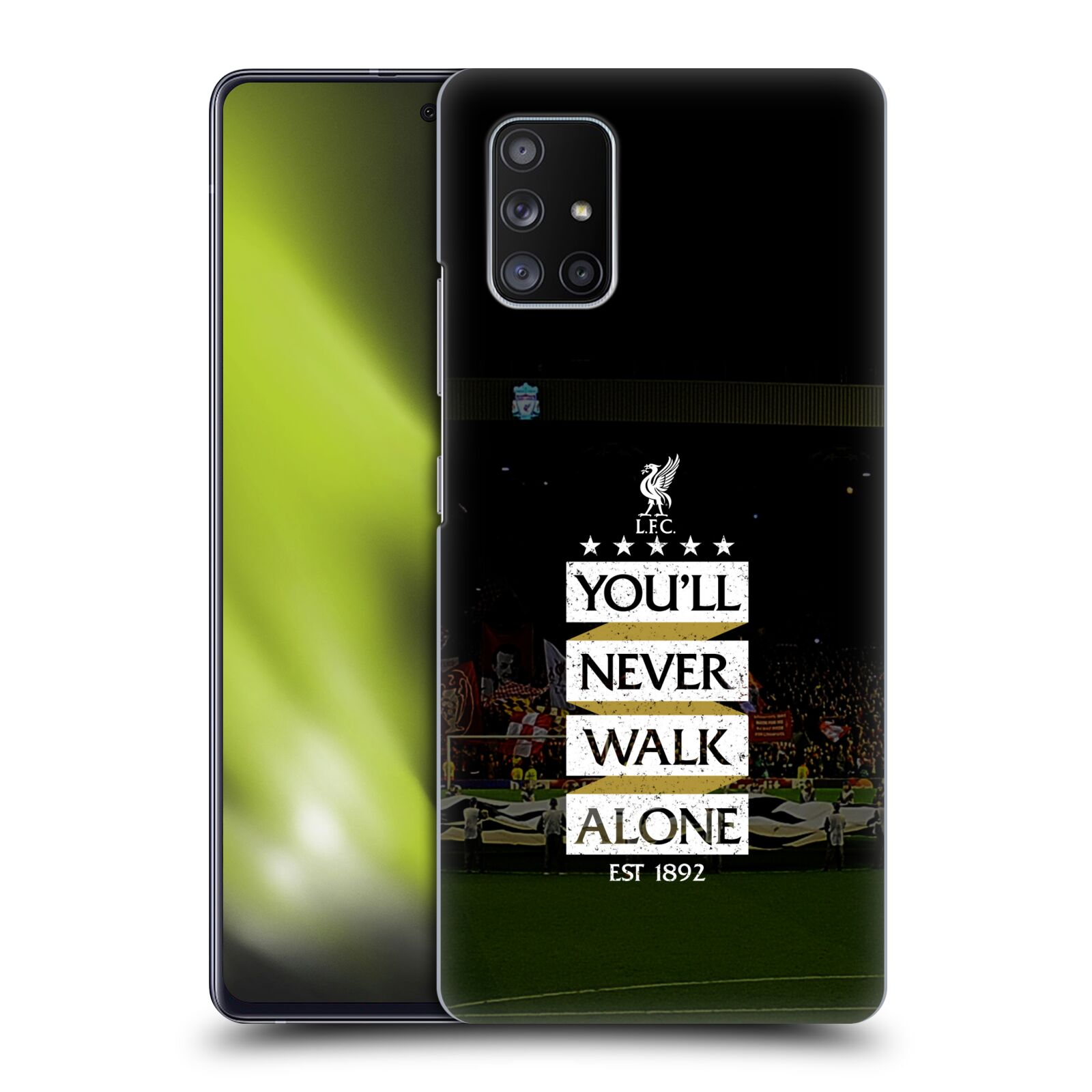 Plastové pouzdro na mobil Samsung Galaxy A51 5G - Head Case - LFC You'll Never Walk Alone