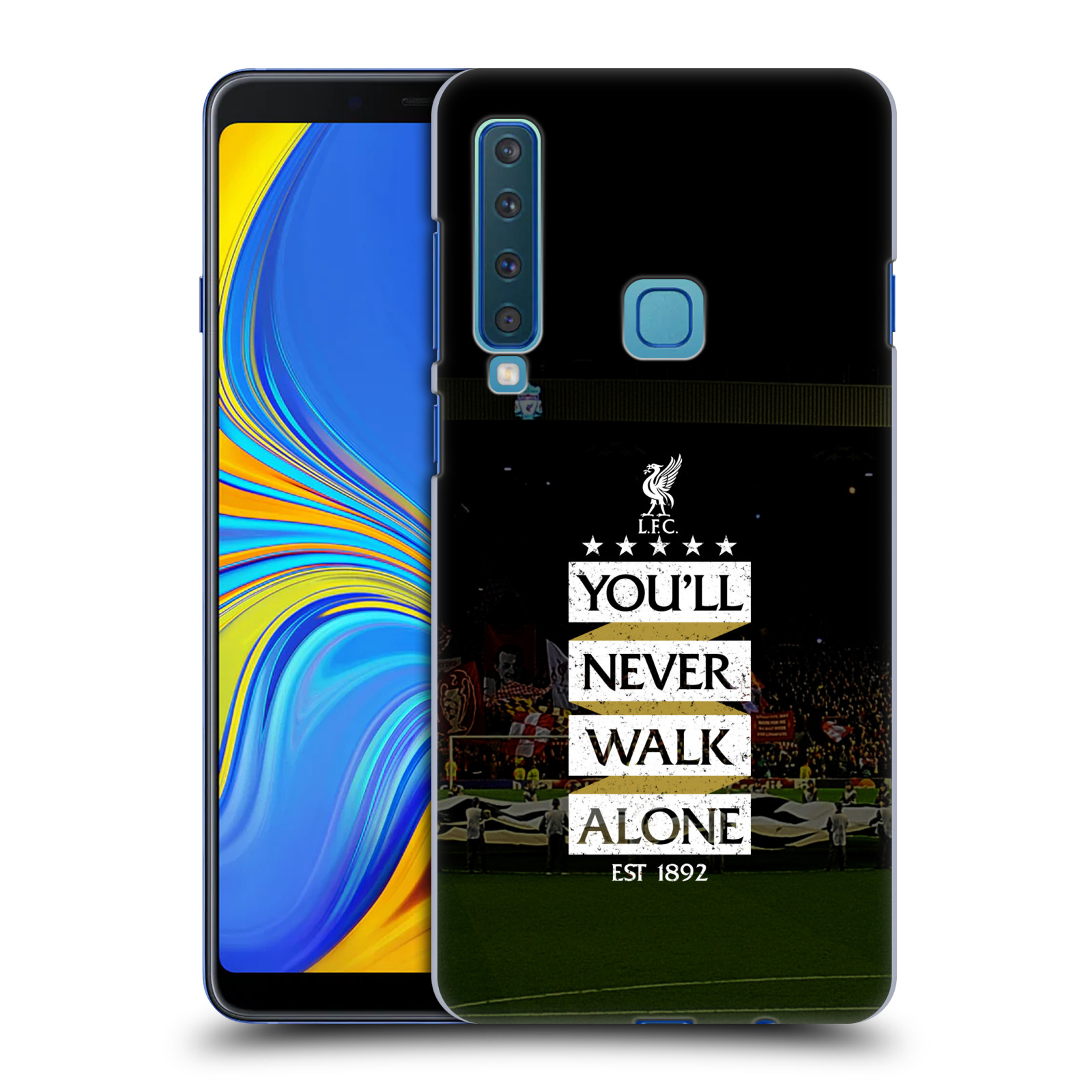 Plastové pouzdro na mobil Samsung Galaxy A9 (2018) - Head Case - LFC You'll Never Walk Alone