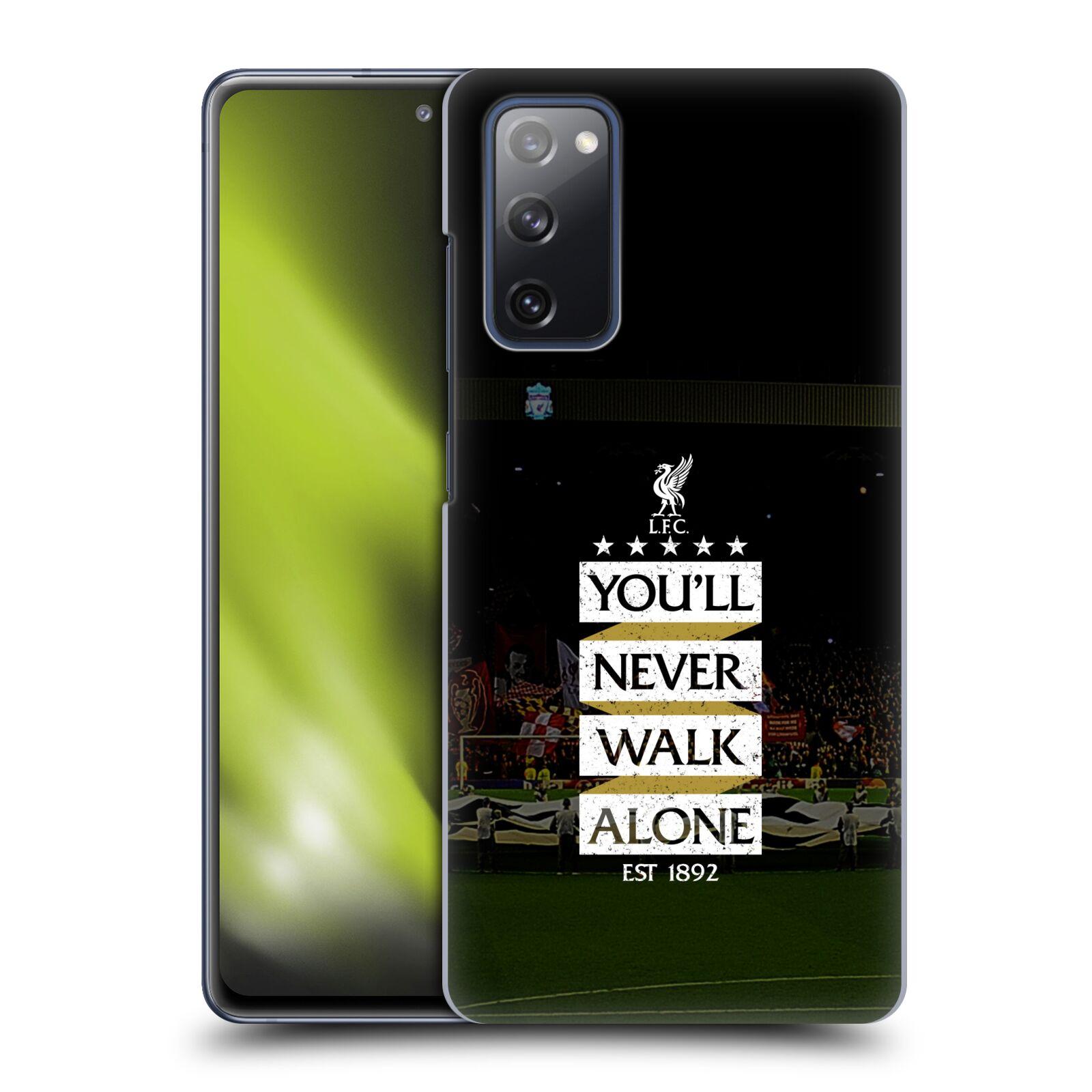 Plastové pouzdro na mobil Samsung Galaxy S20 FE - Head Case - LFC You'll Never Walk Alone
