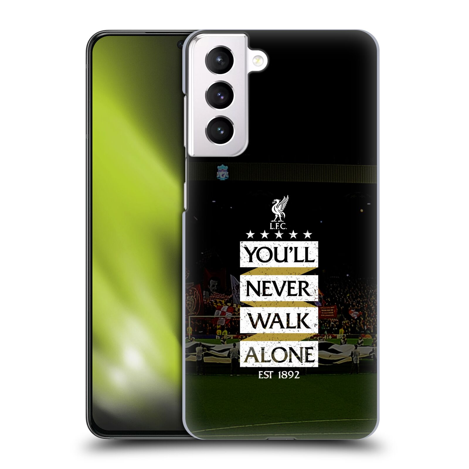 Plastové pouzdro na mobil Samsung Galaxy S21 Plus 5G - Head Case - LFC You'll Never Walk Alone
