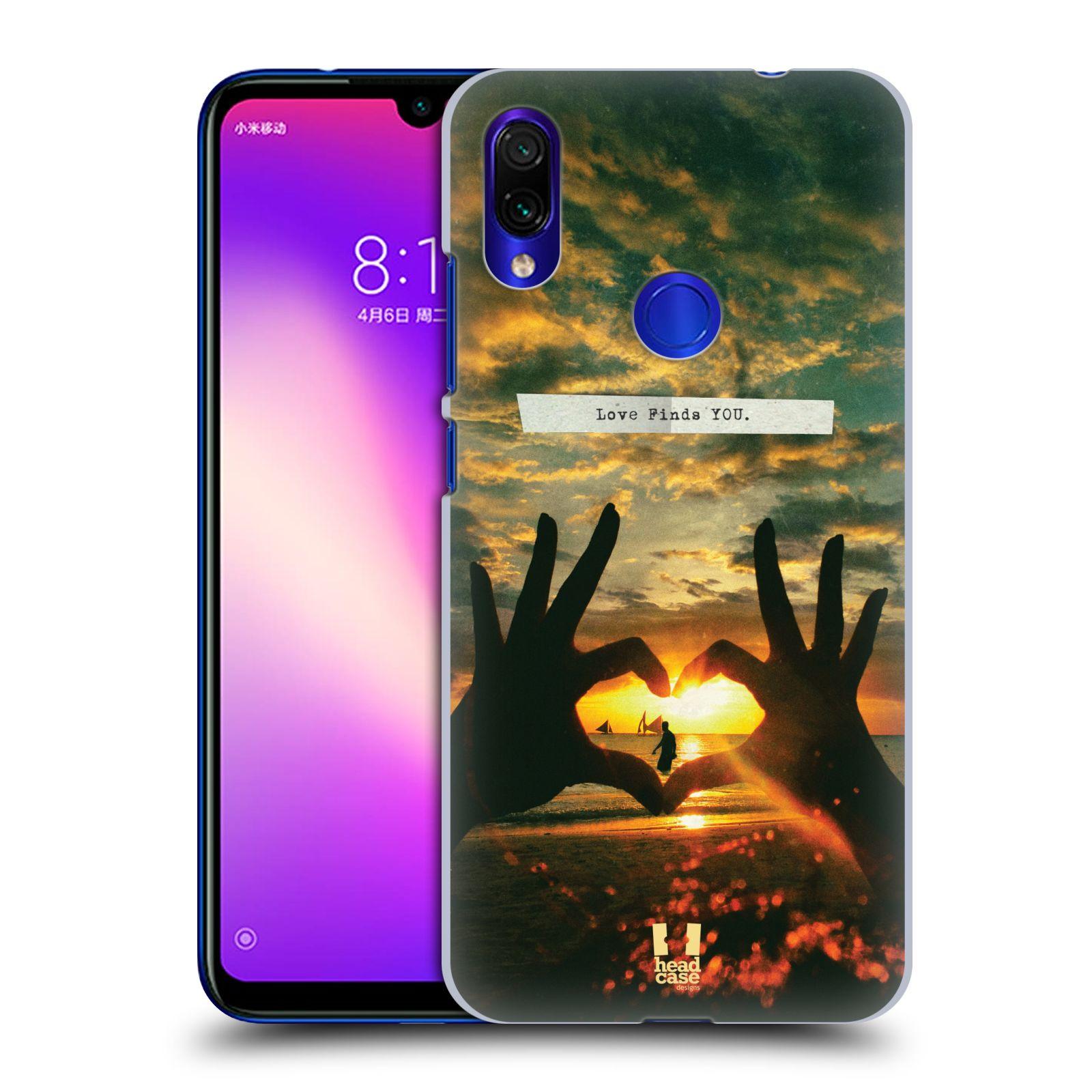 Plastové pouzdro na mobil Xiaomi Redmi Note 7 - Head Case - LÁSKA SI TĚ NAJDE