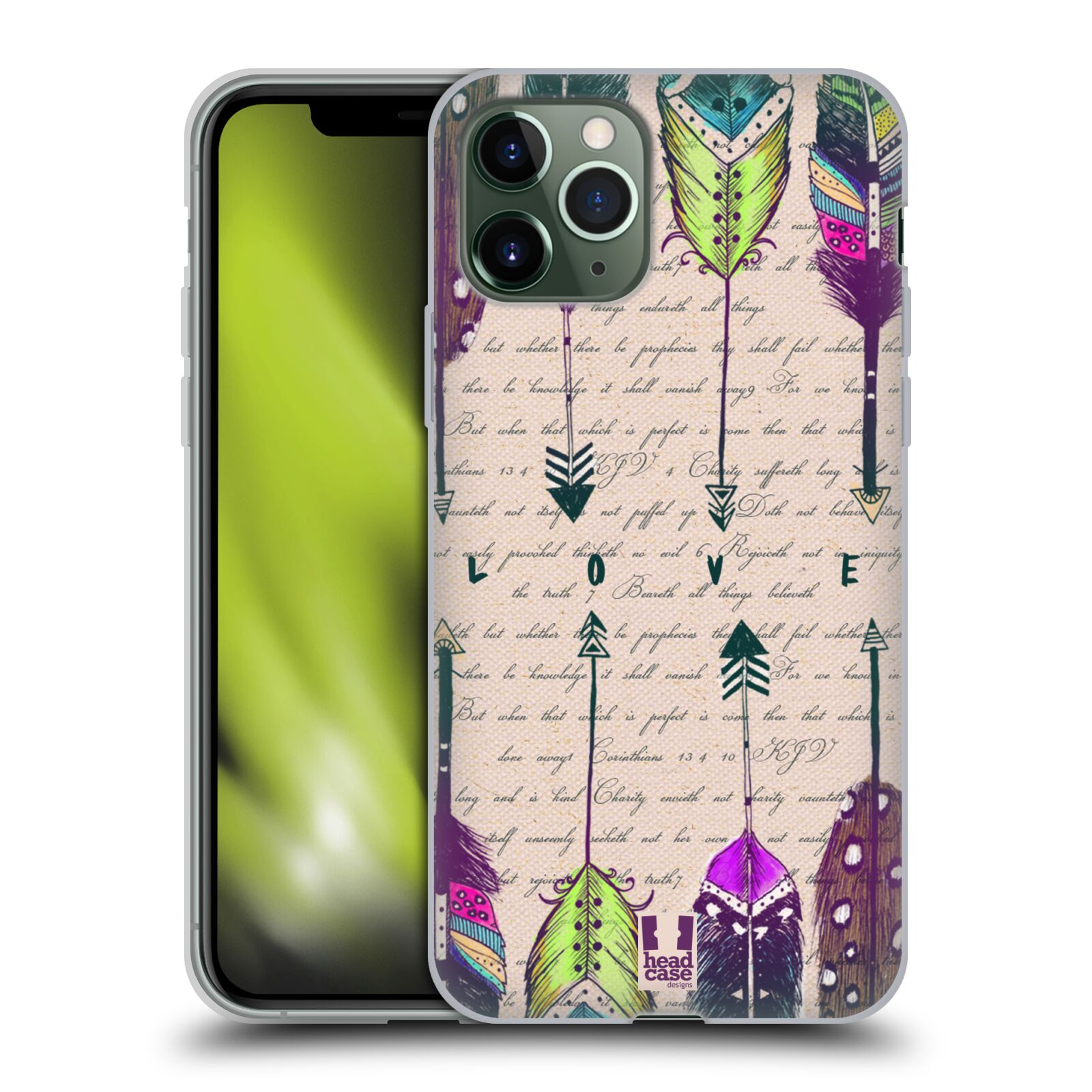 kryt iphone xr guess | Silikonové pouzdro na mobil Apple iPhone 11 Pro - Head Case - PÍRKA LOVE
