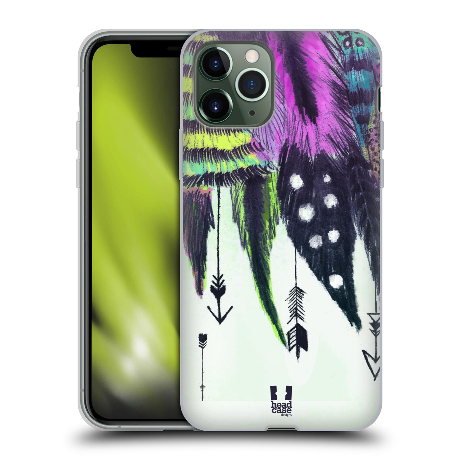 victoria krytu na iphone xr | Silikonové pouzdro na mobil Apple iPhone 11 Pro - Head Case - PÍRKA ROMANTIC