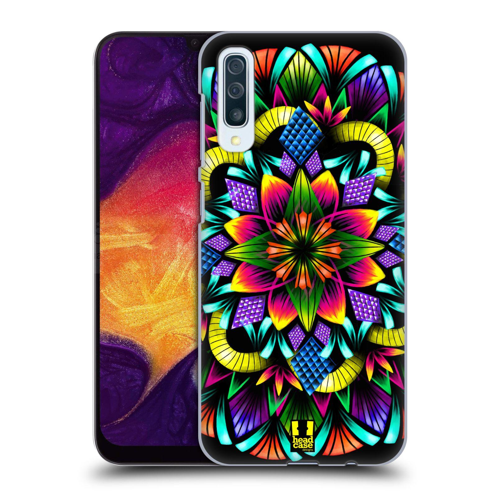 Plastové pouzdro na mobil Samsung Galaxy A50 / A30s - Head Case - Květina mandala