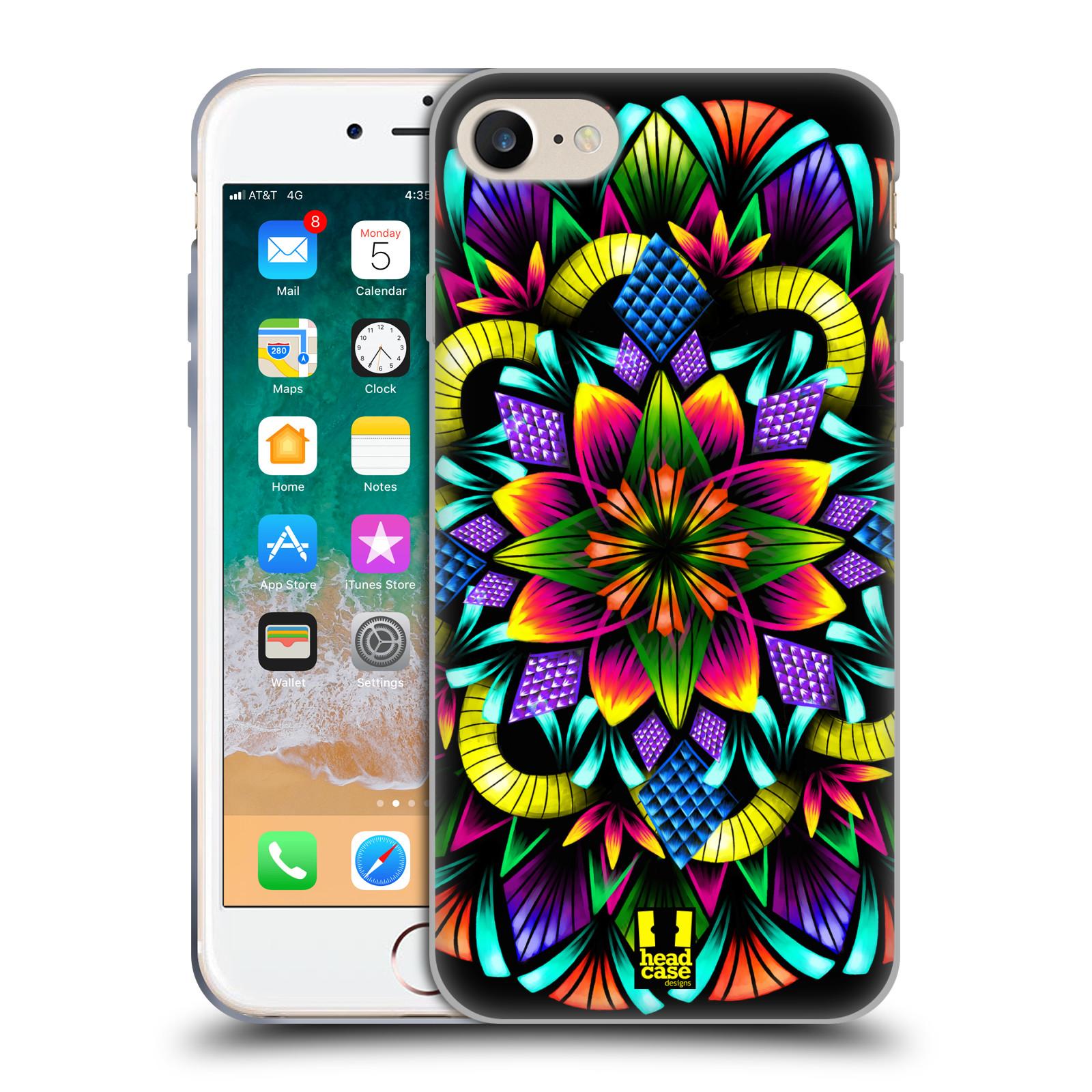 Silikonové pouzdro na mobil Apple iPhone SE (2020) - Head Case - Květina mandala