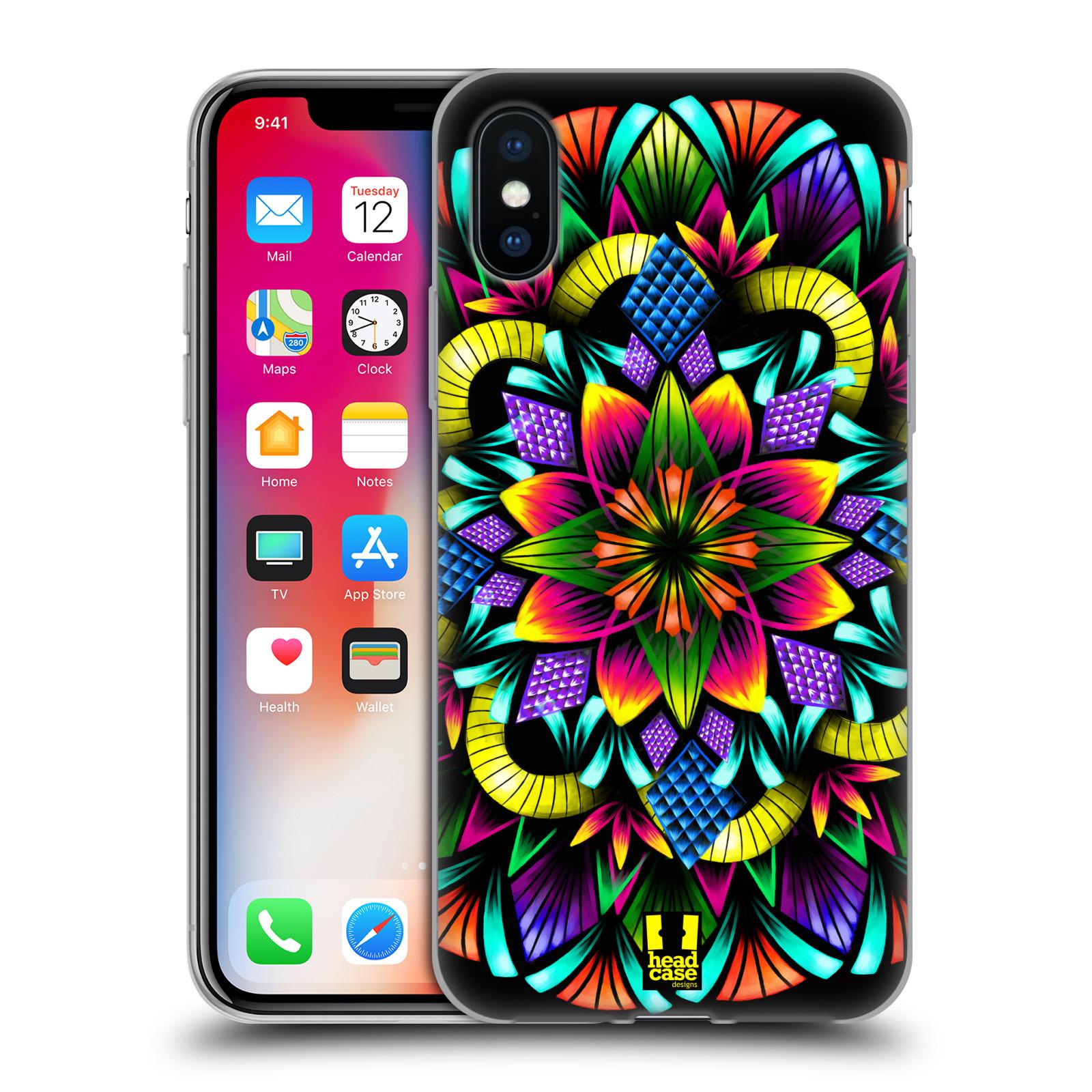 Silikonové pouzdro na mobil Apple iPhone XS - Head Case - Květina mandala