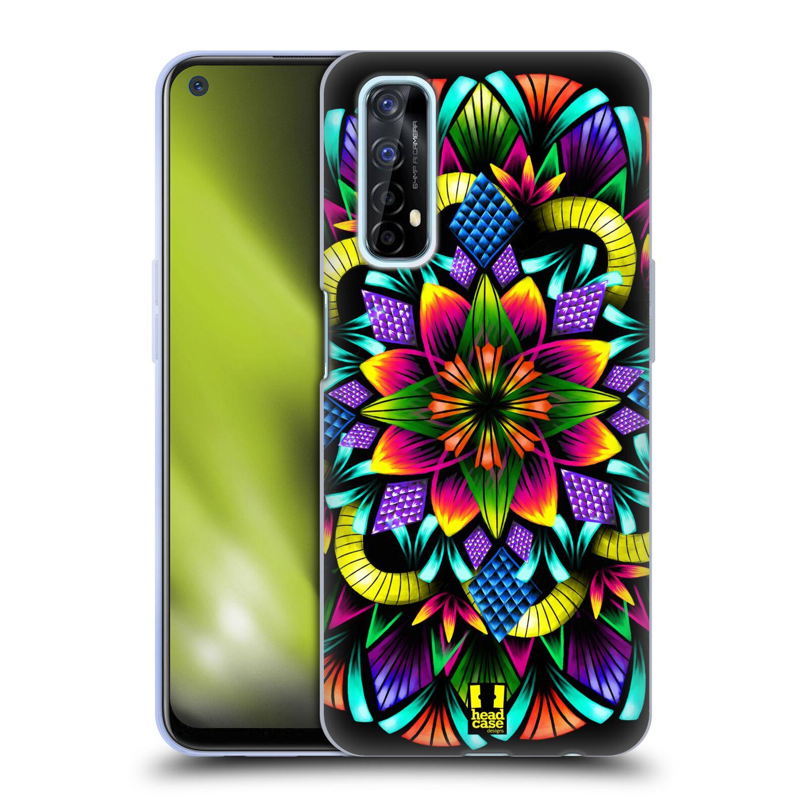 Silikonové pouzdro na mobil Realme 7 - Head Case - Květina mandala