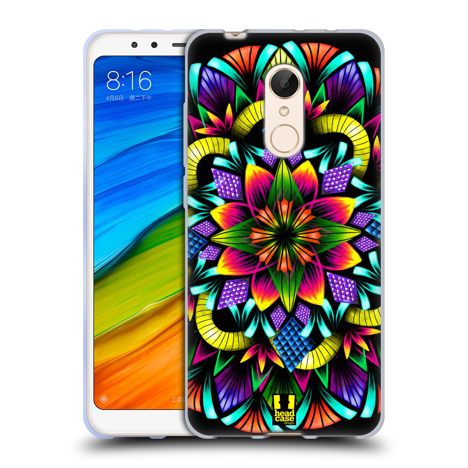 Silikonové pouzdro na mobil Xiaomi Redmi 5 - Head Case - Květina mandala