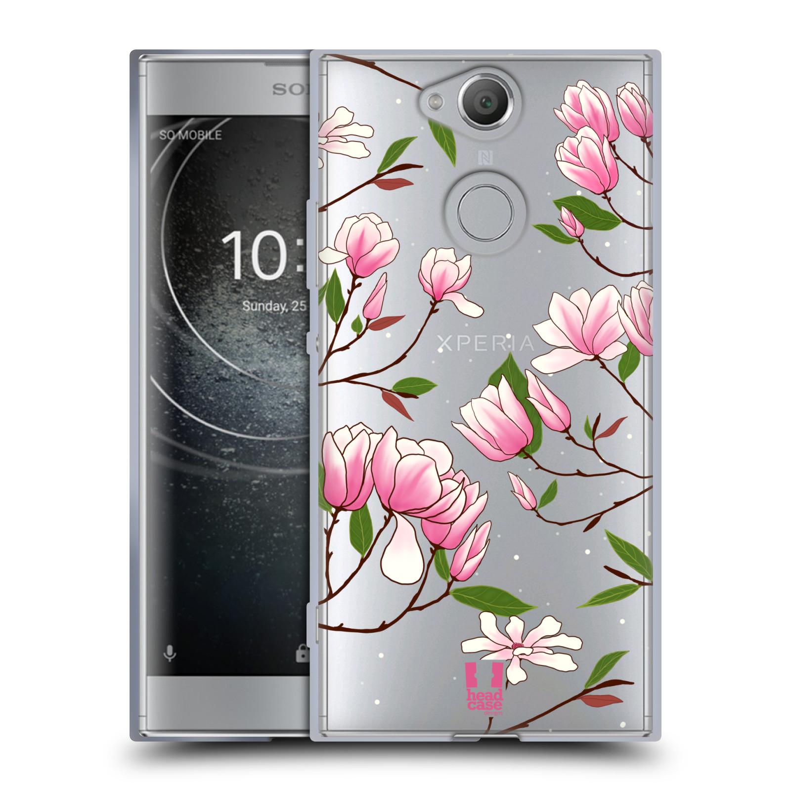 Silikonové pouzdro na mobil Sony Xperia XA2 - Head Case - Růžovoučké květy