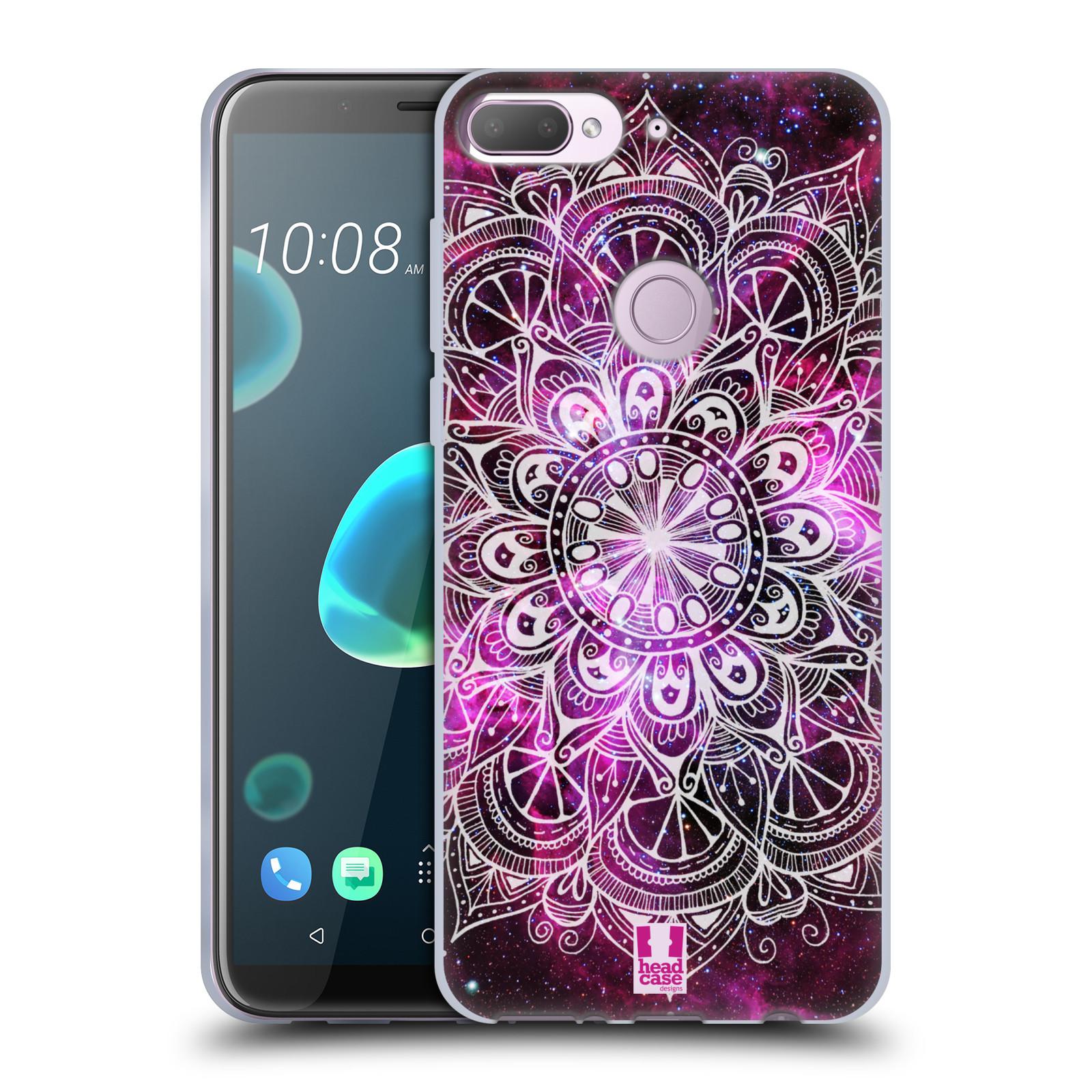 Silikonové pouzdro na mobil HTC Desire 12 Plus - Head Case - Mandala Doodle Nebula