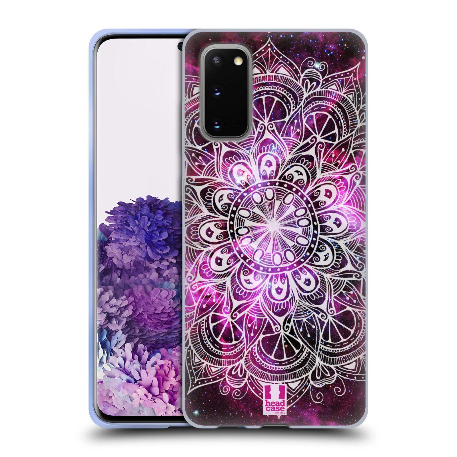 Silikonové pouzdro na mobil Samsung Galaxy S20 - Head Case - Mandala Doodle Nebula