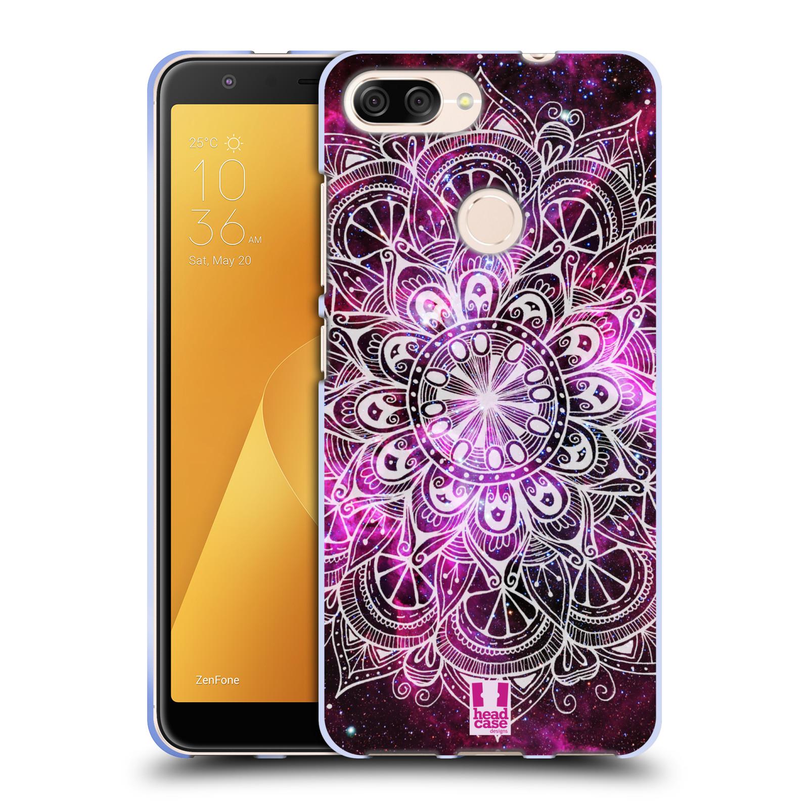 Silikonové pouzdro na mobil Asus ZenFone Max Plus (M1) - Head Case - Mandala Doodle Nebula
