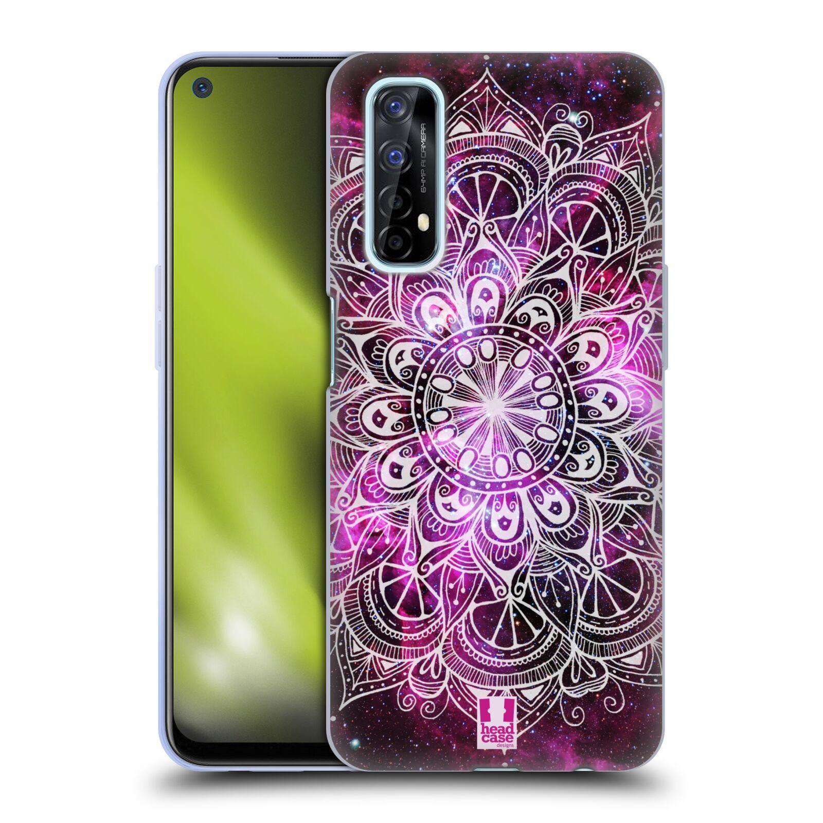 Silikonové pouzdro na mobil Realme 7 - Head Case - Mandala Doodle Nebula
