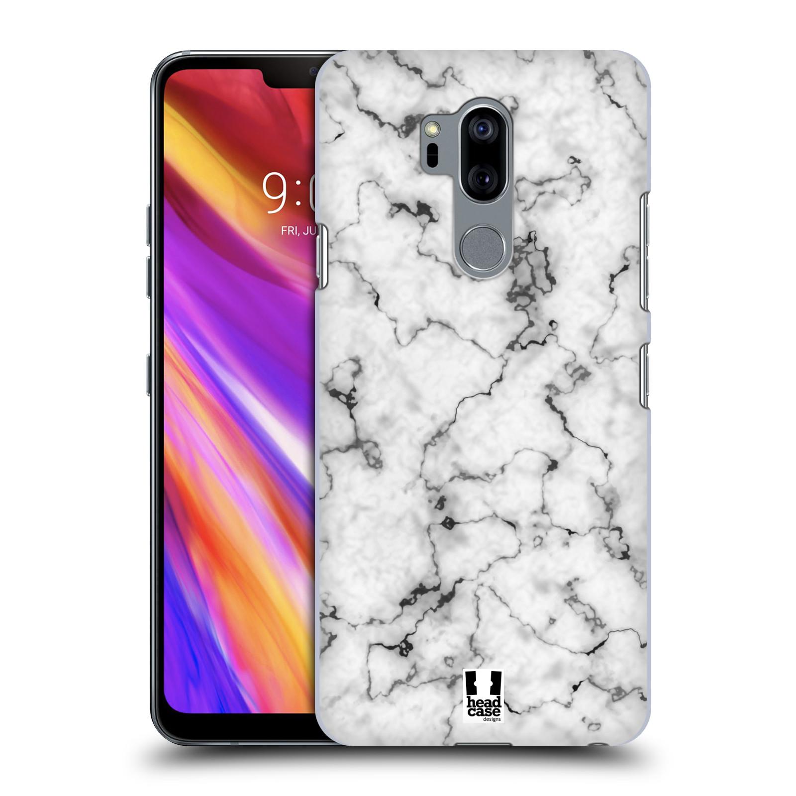 Plastové pouzdro na mobil LG G7 ThinQ - Head Case - Bílý mramor
