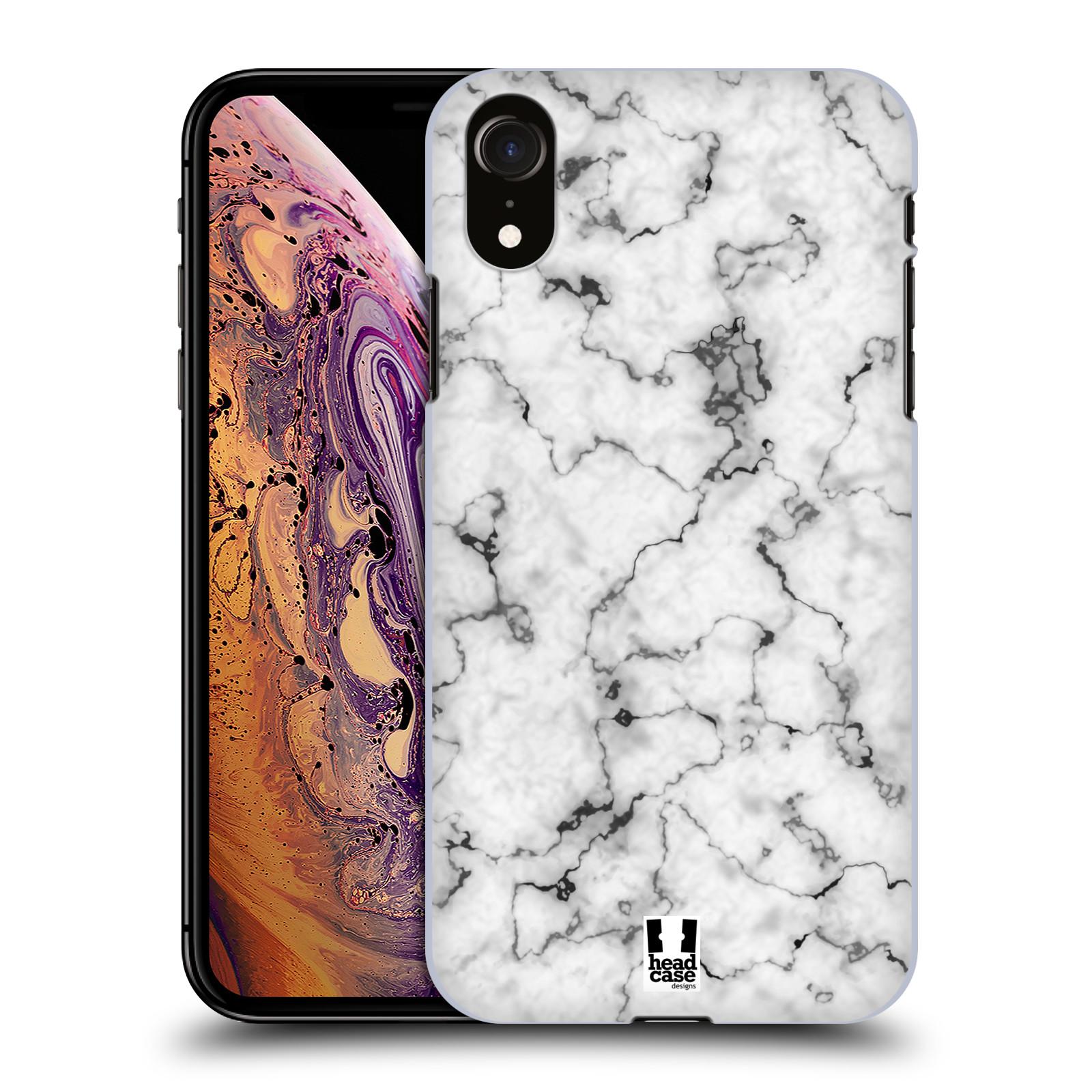 Plastové pouzdro na mobil Apple iPhone XR - Head Case - Bílý mramor
