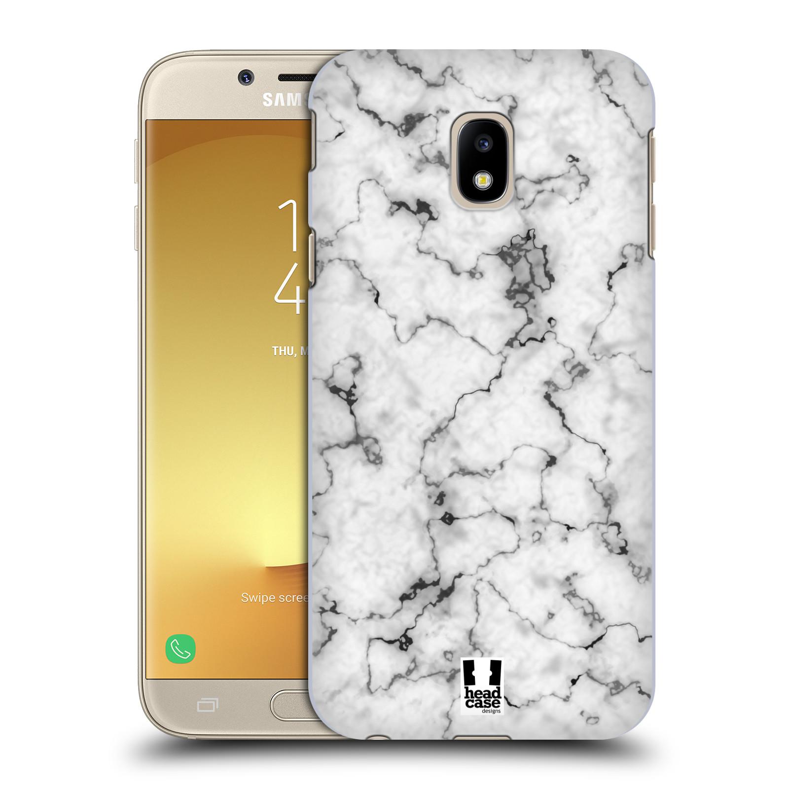 Plastové pouzdro na mobil Samsung Galaxy J3 (2017) - Head Case - Bílý mramor
