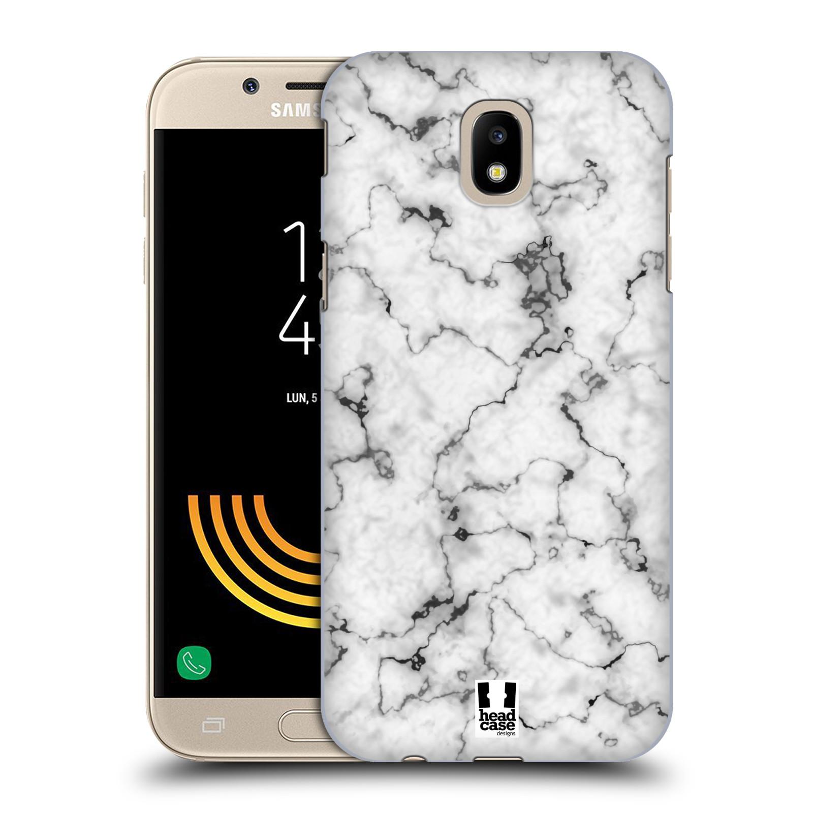 Plastové pouzdro na mobil Samsung Galaxy J5 (2017) - Head Case - Bílý mramor